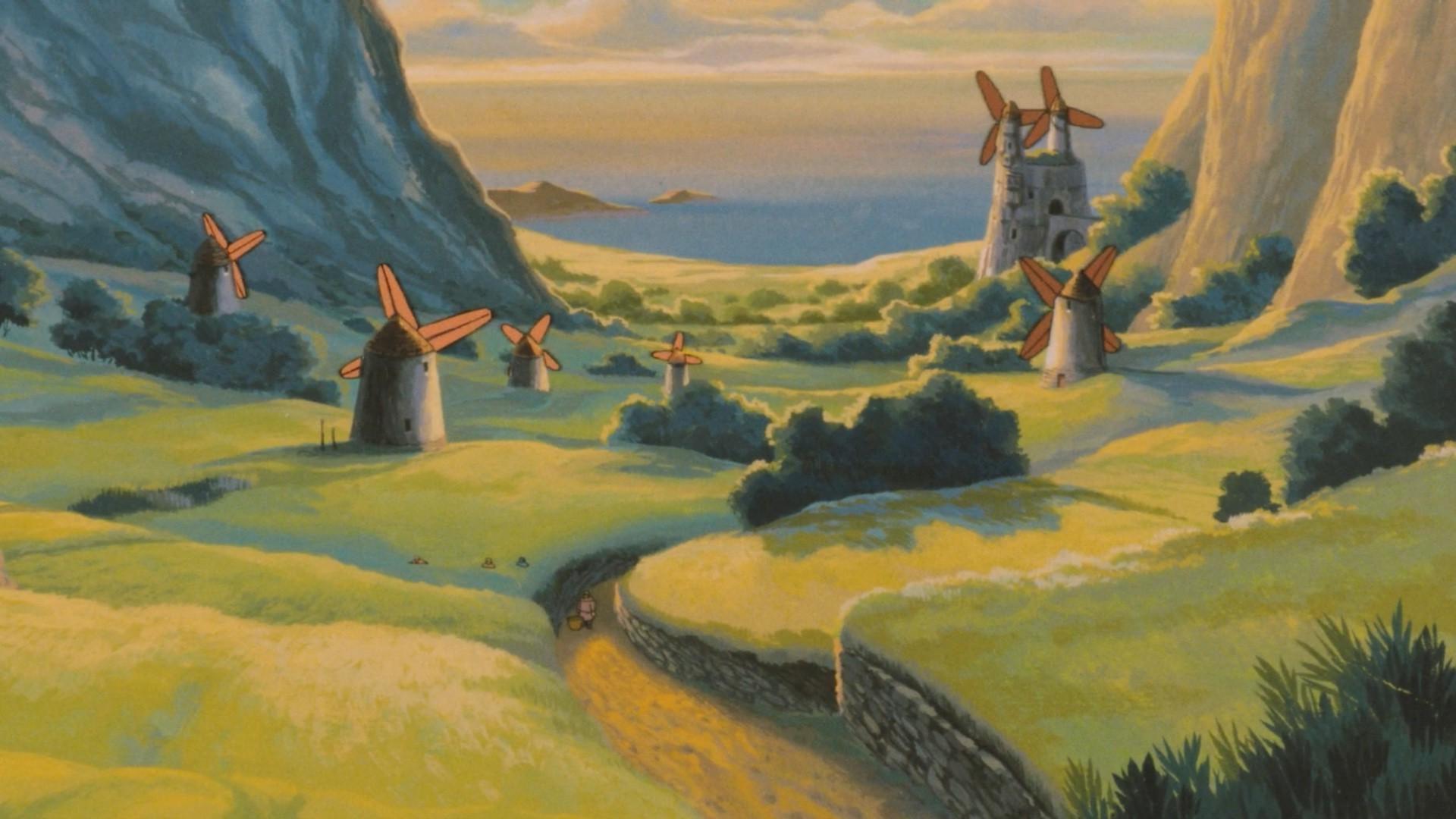 Studio Ghibli Wallpapers (71+ images) |Nausicaa Studio Ghibli Wallpaper