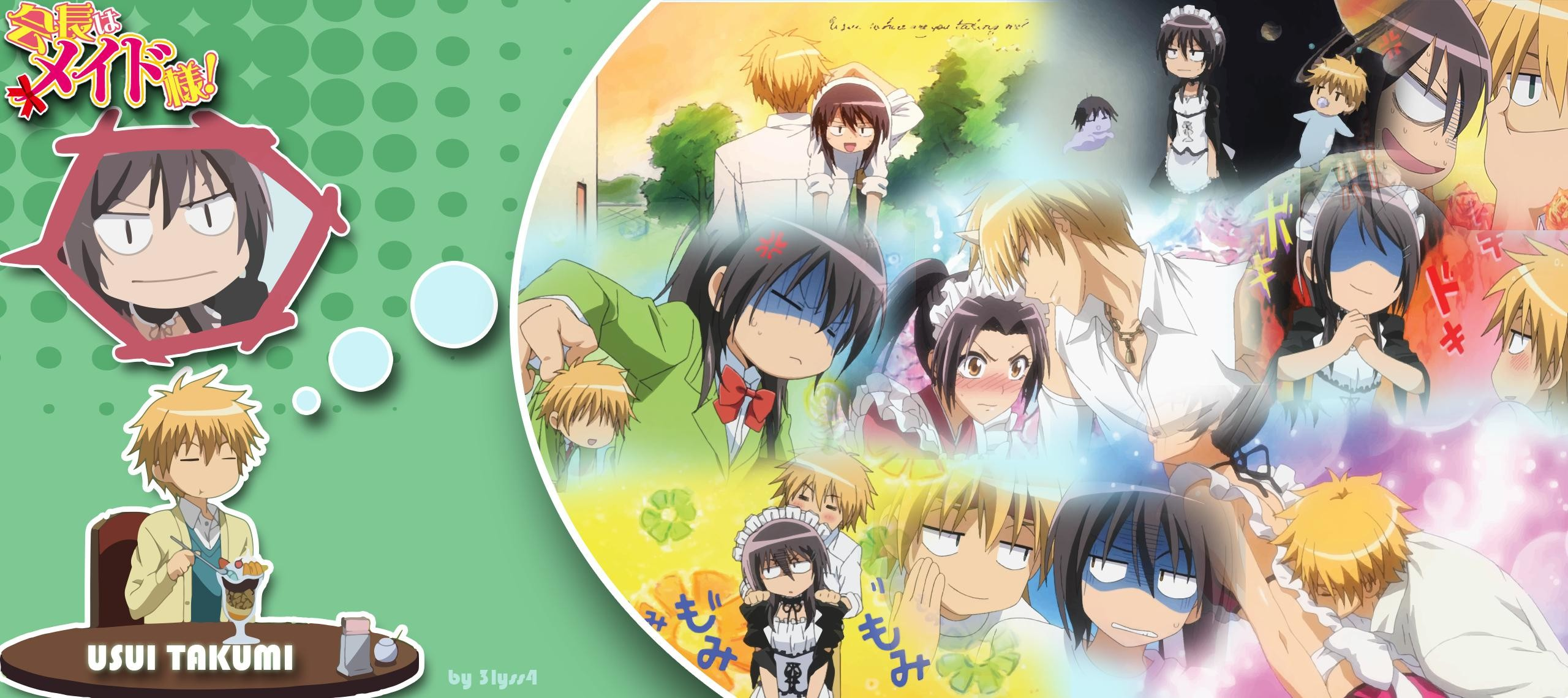 2560x1140 Kaichou wa Maidsama! wallpaper WallpaperUP 2560×1140 Maid Sama Wallpapers  (41 Wallpapers)