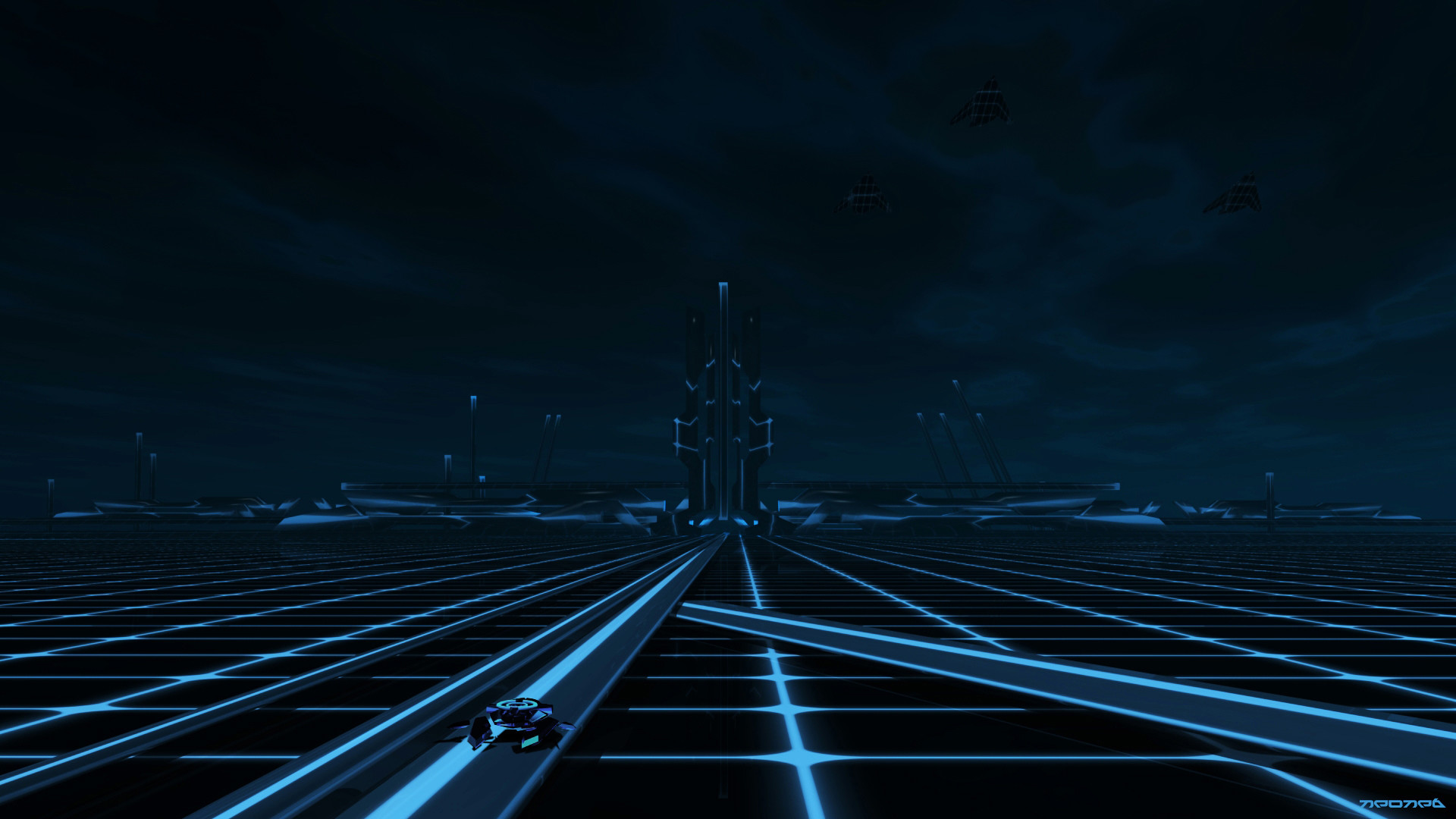 1920x1080 WinCustomize: Explore : Wallpapers : TRON The grid