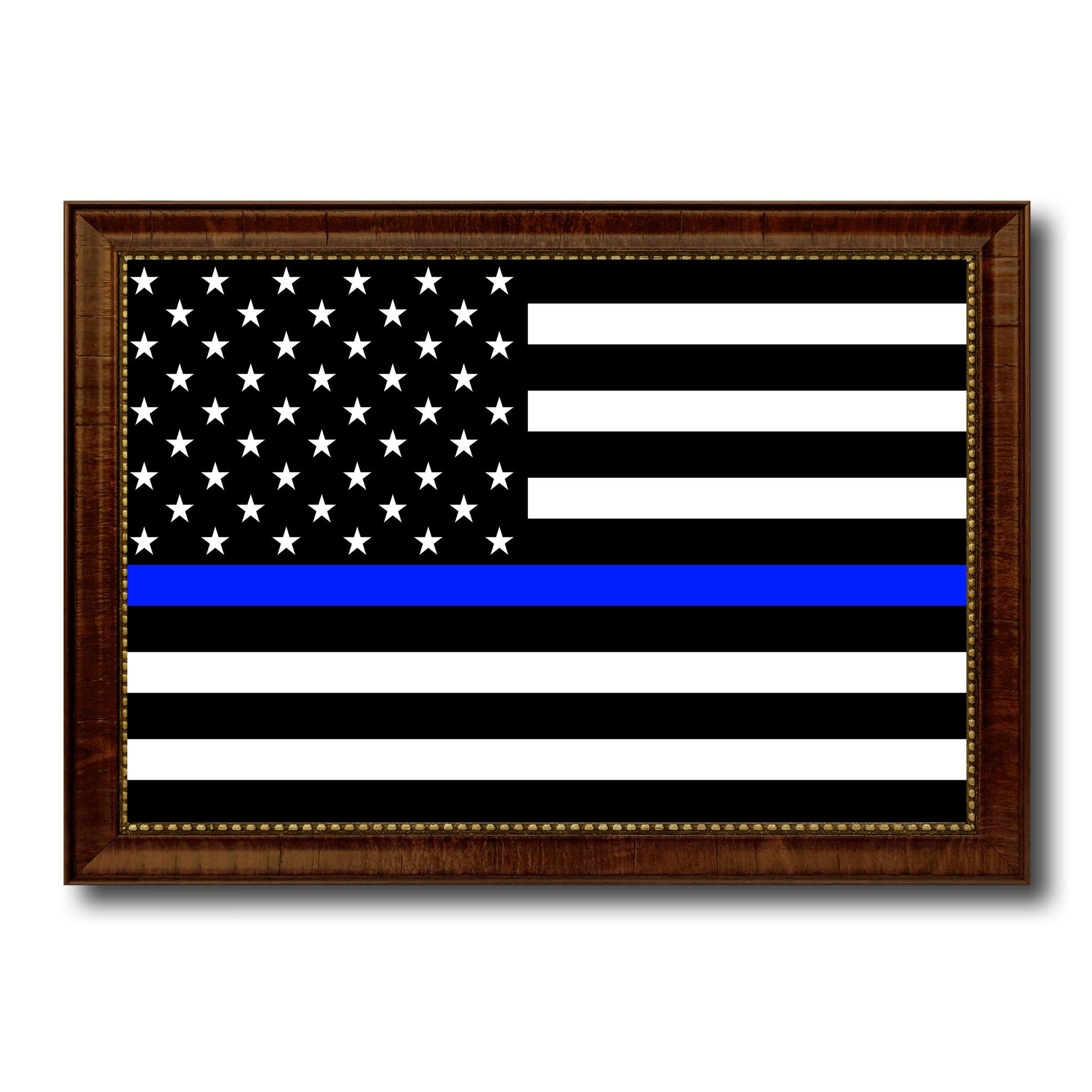 Blue Line Wallpaper