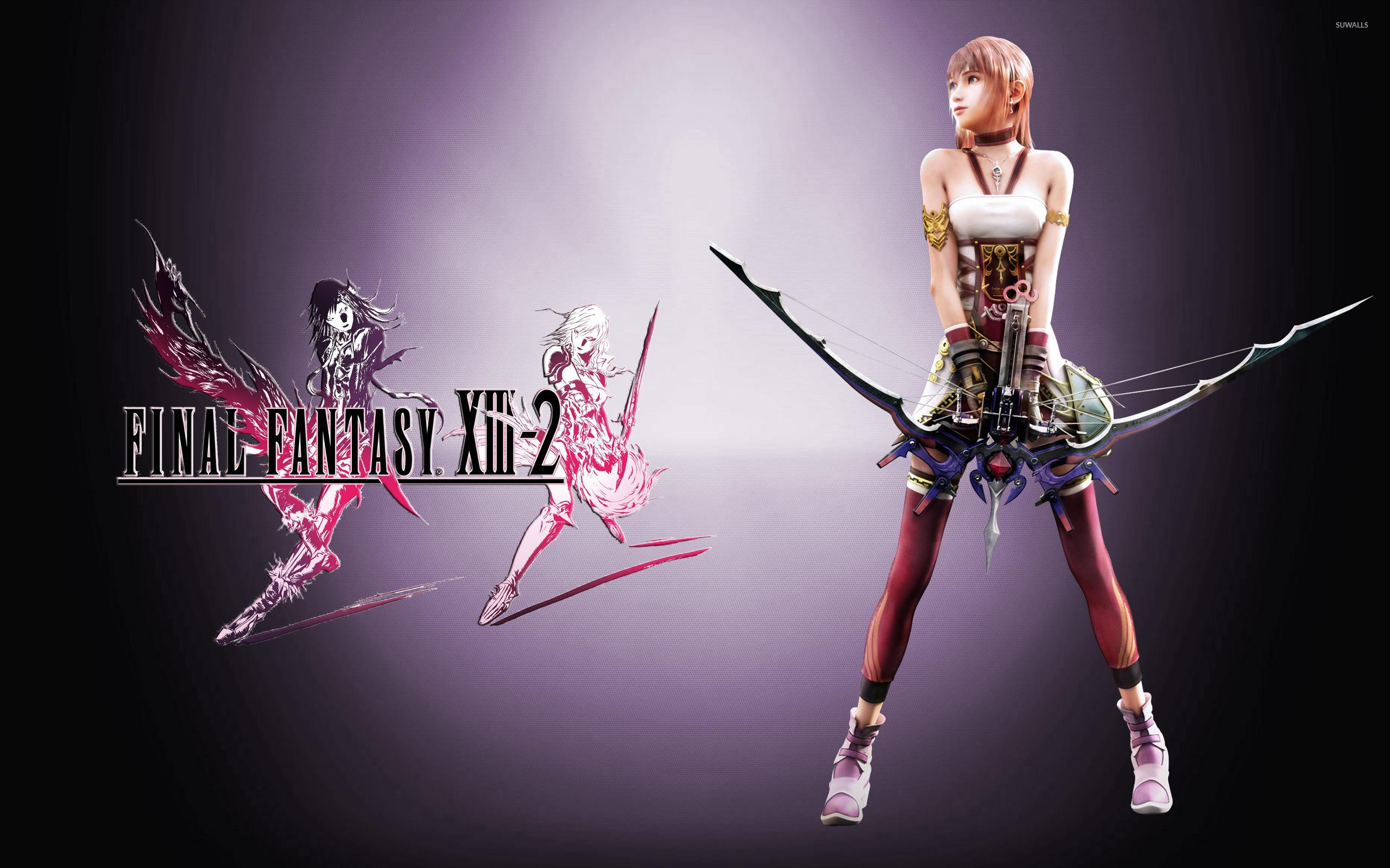 Final Fantasy 13 2 Wallpaper: Final Fantasy XIII 2 Wallpaper (88+ Images