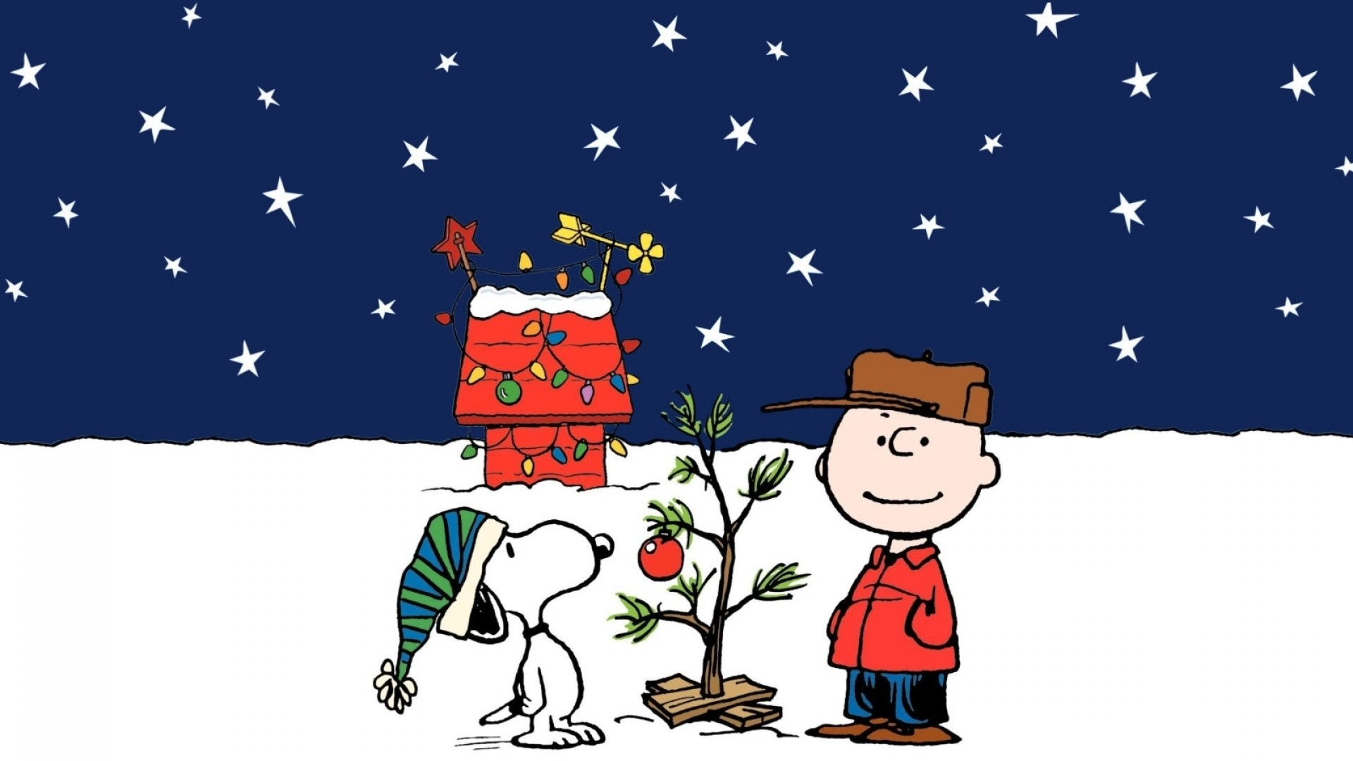1920x1080 CHARLIE BROWN peanuts comics snoopy christmas gg wallpaper background