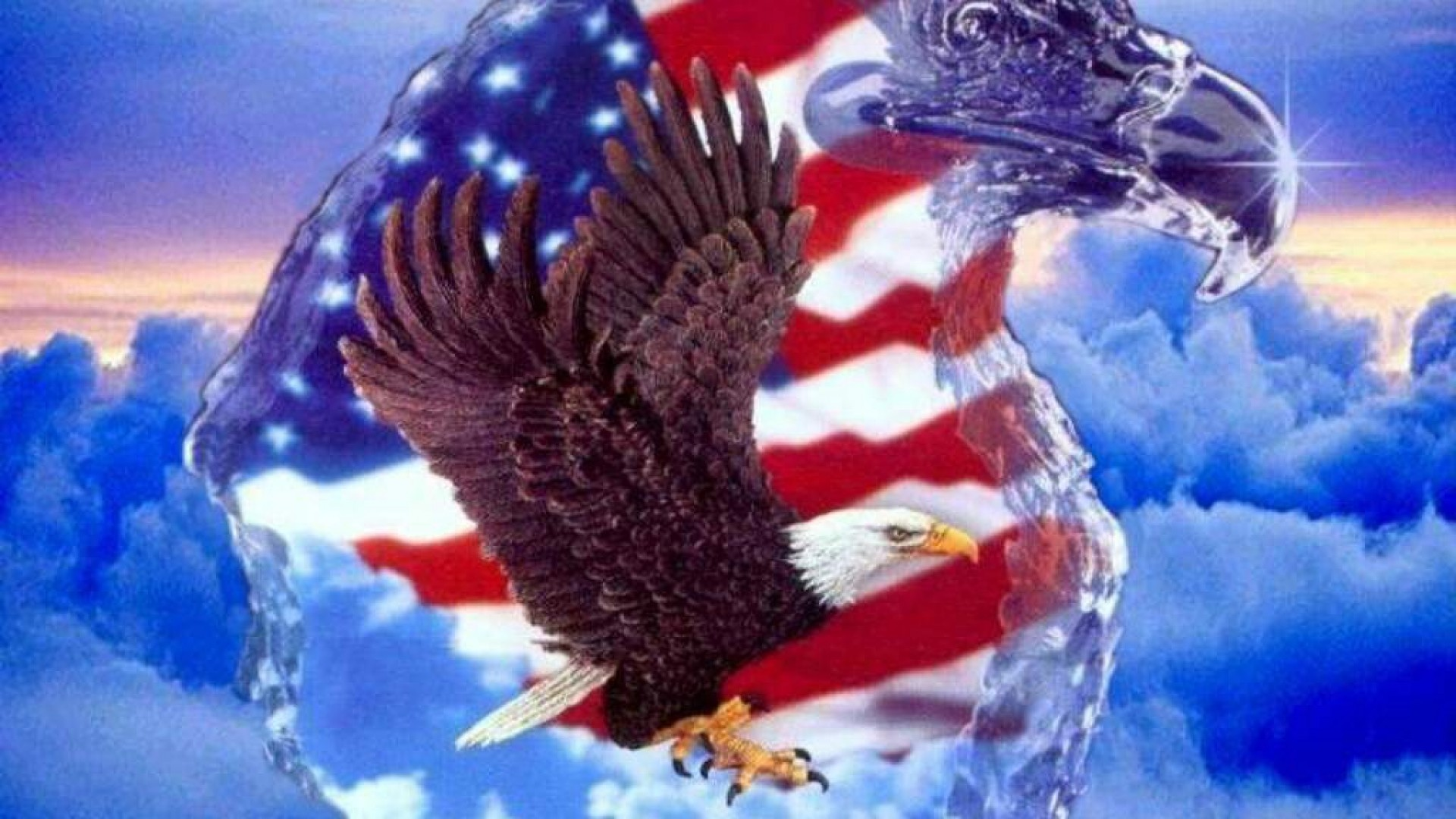 1920x1080 Bald Eagle For Independence Day Wallpaper Free Iphone Wallpapers
