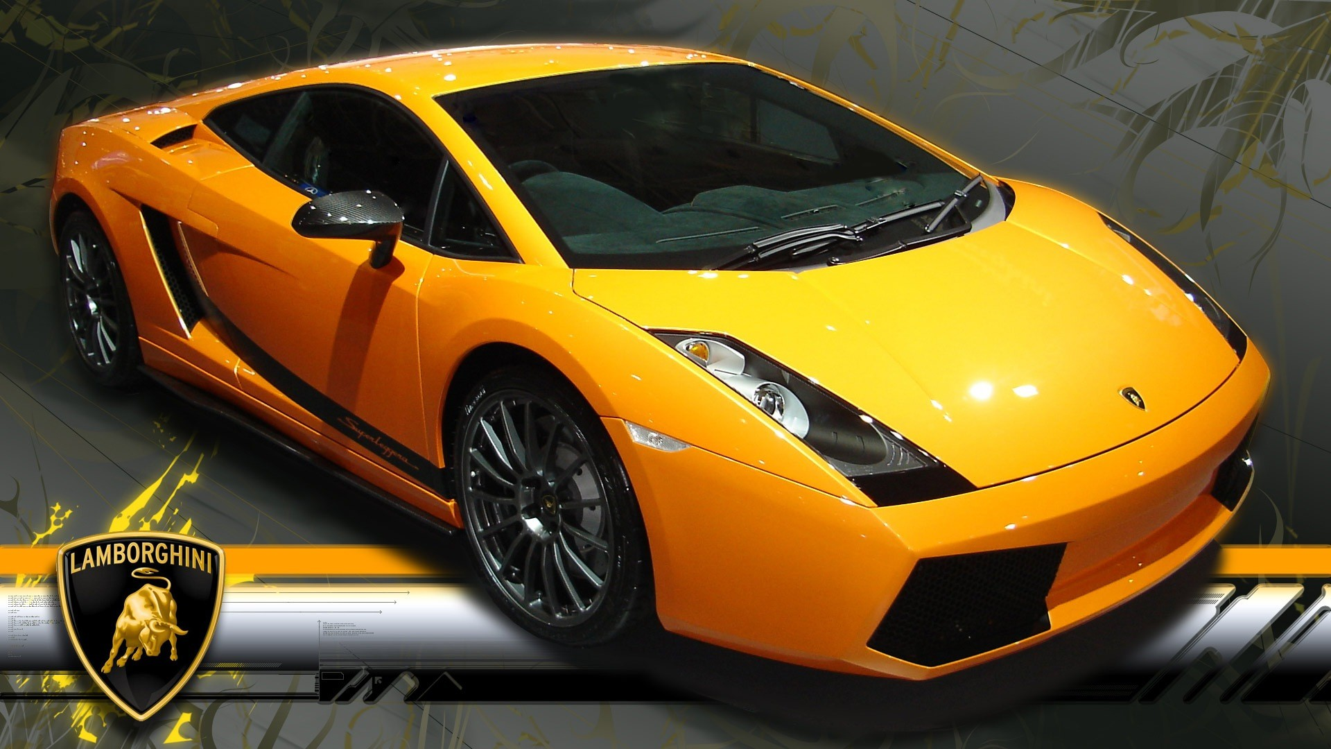 1920x1080 Car wallpapers: Lamborghini Gallardo