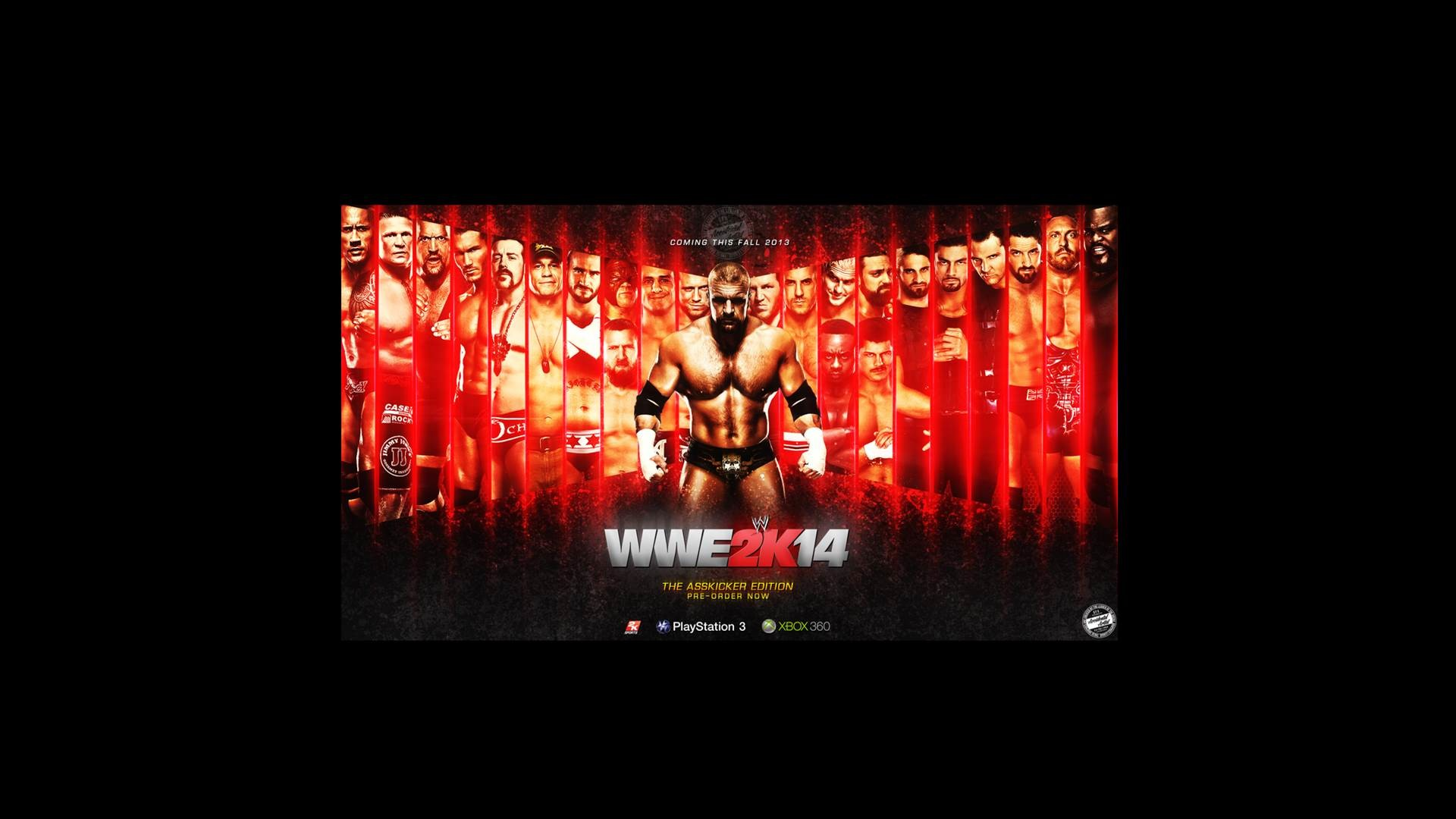 1920x1080 wwe 2k14 hd wallpaper