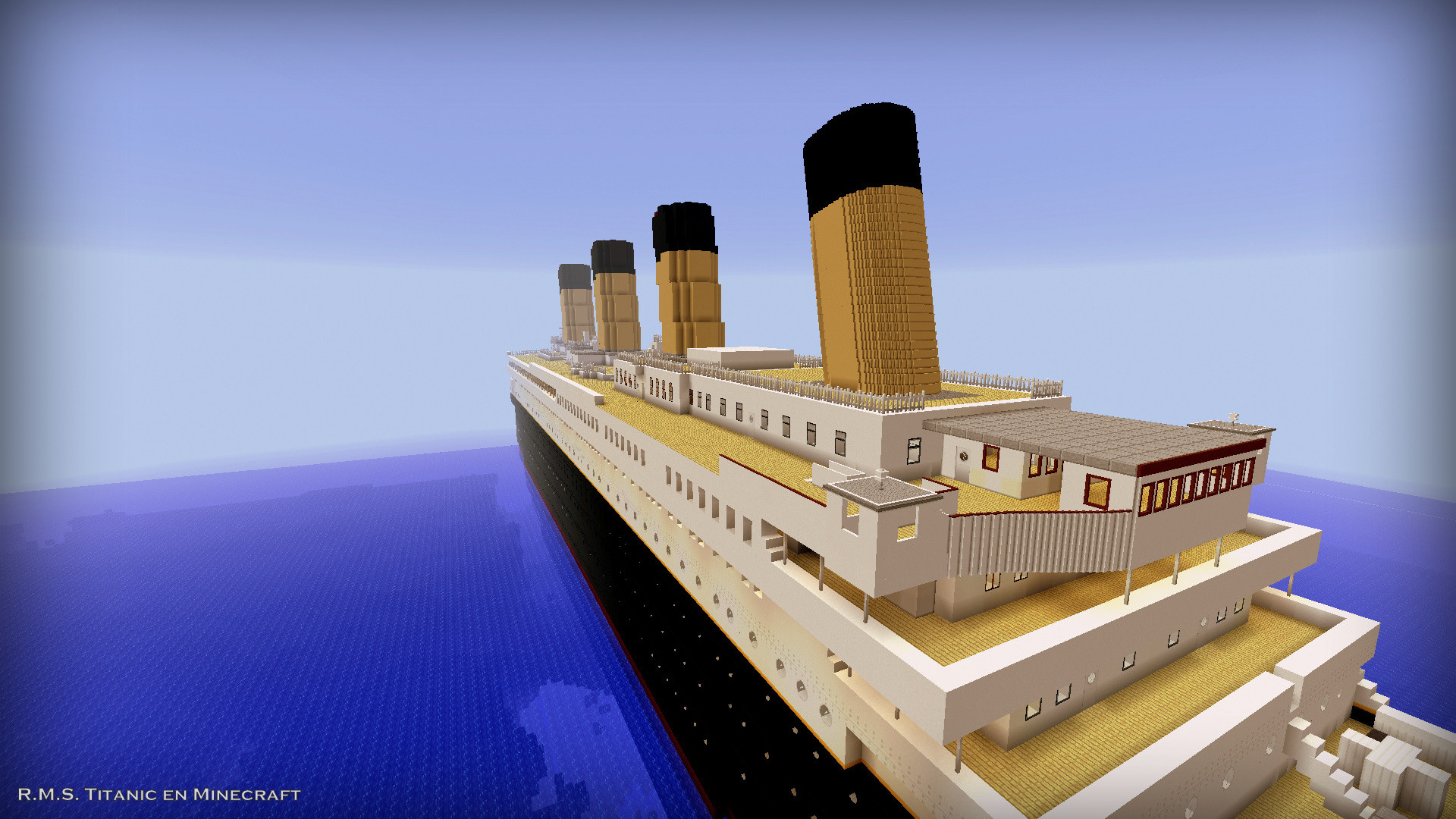 1920x1080 R.M.S. Titanic in Minecraft: New Webpage Design (12/11/2016) - Creative  Mode - Minecraft: Java Edition - Minecraft Forum - Minecraft Forum