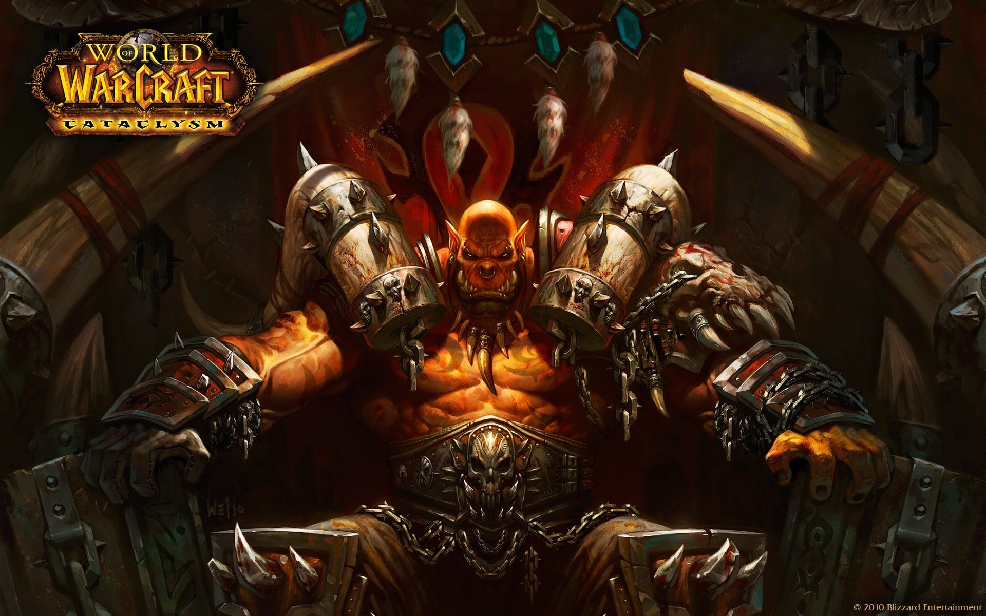 1920x1200 WOW: Garrosh Hellscream Wallpapers