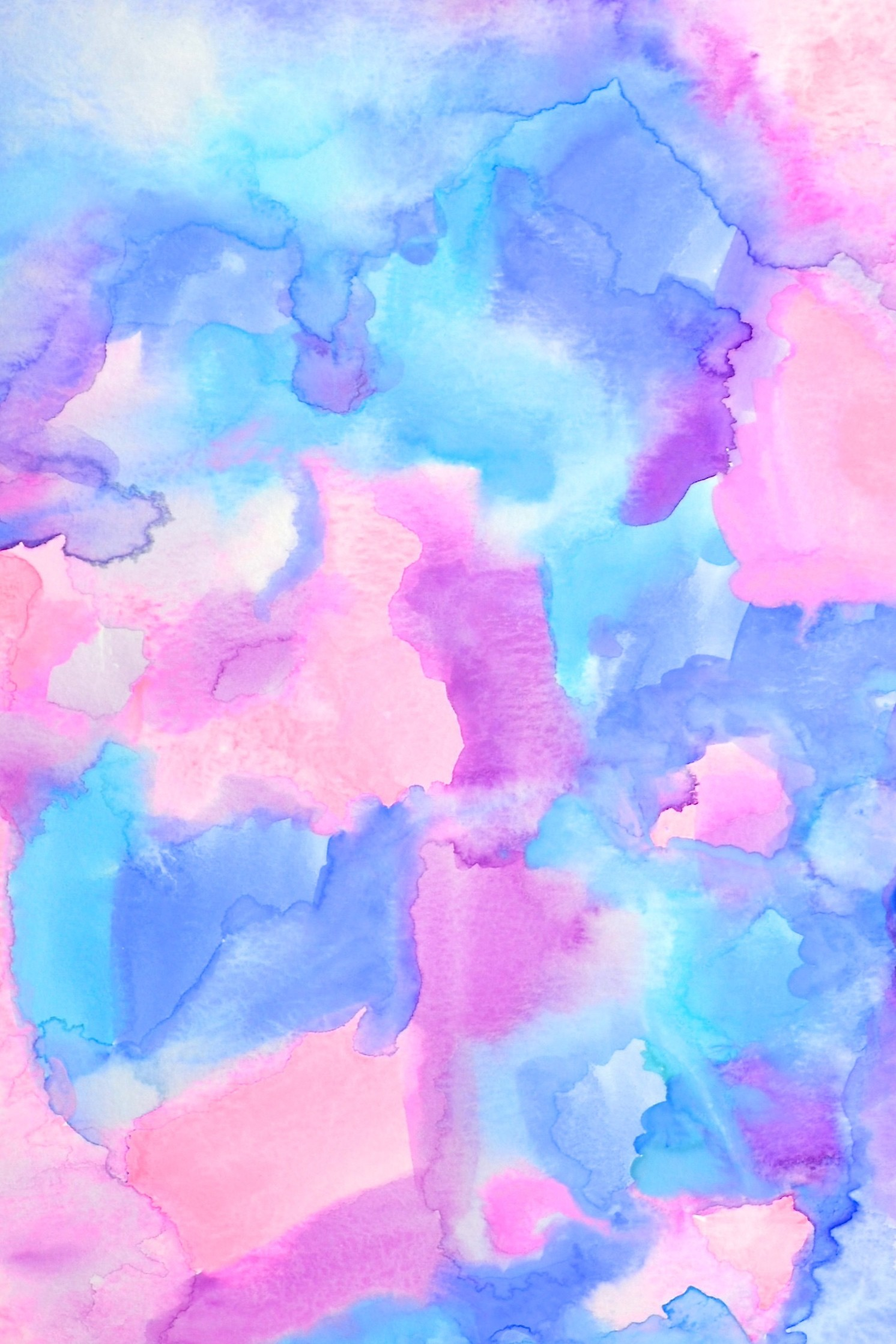 "1492x2238 ""Ambrosia""- gorgeous free hand painted watercolor iPhone wallpaper."