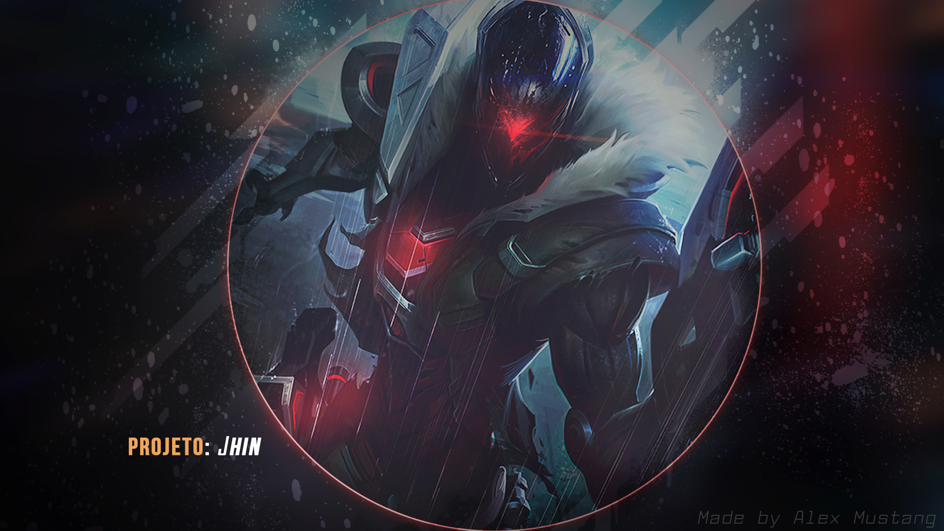 1920x1080 PROJECT Jhin by AlexMust4ng HD Wallpaper Background Fan Art Artwork League  of Legends lol