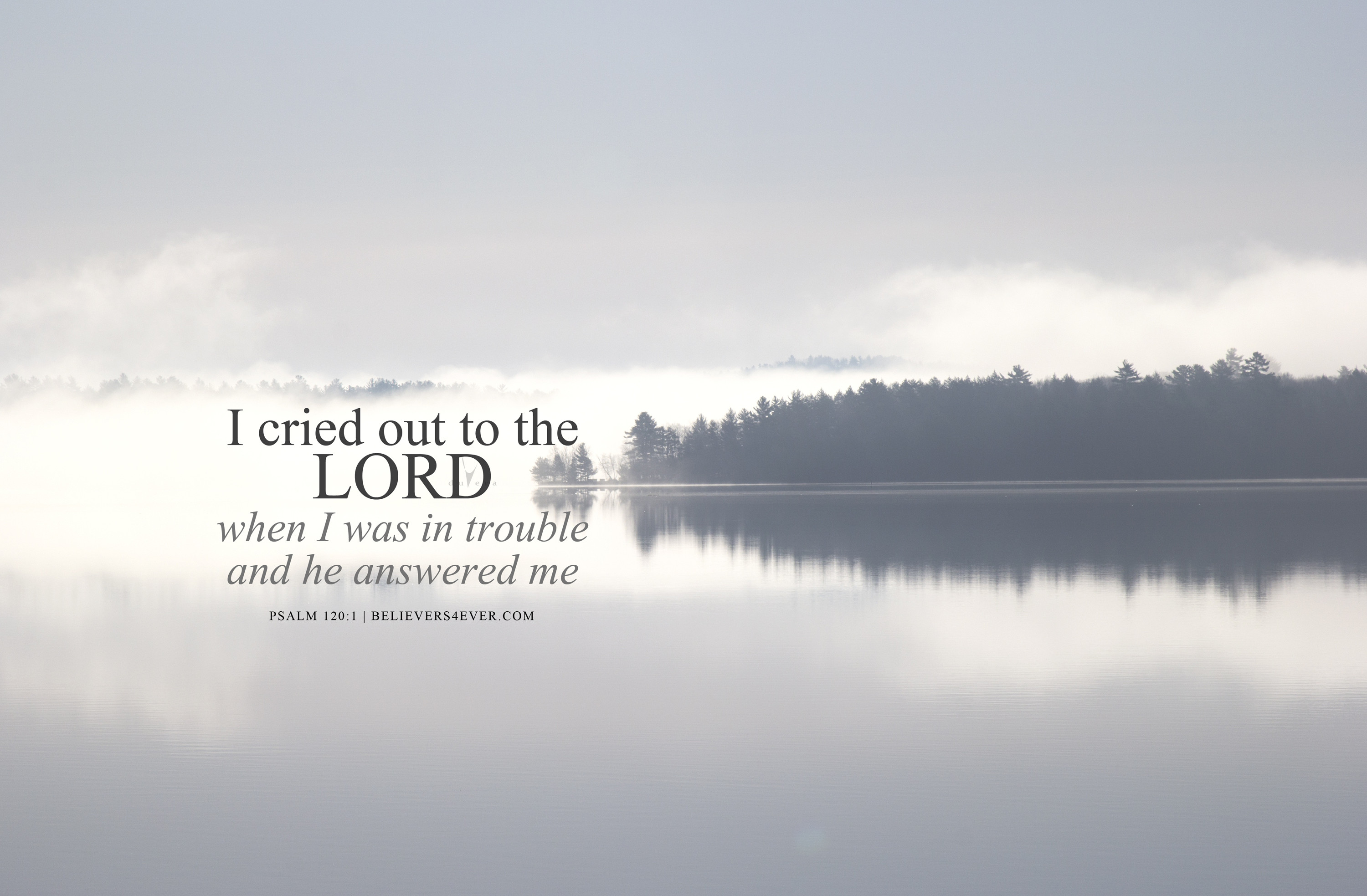 3000x1967 Christian desktop wallpaper with bible verse. Use for church sermons and  more. I cried