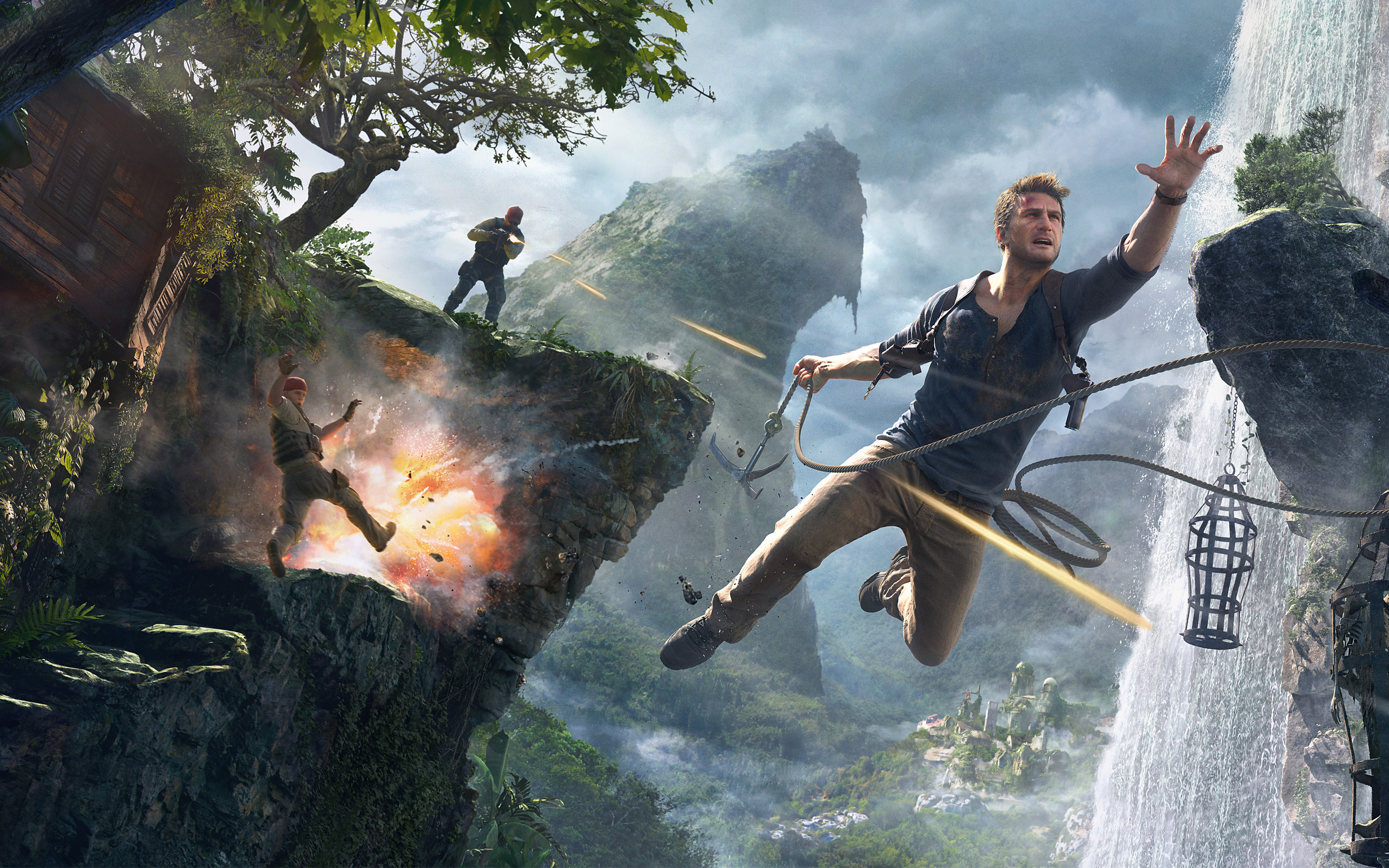 2880x1800 Uncharted 4 A Thief's End 4K 8K HD
