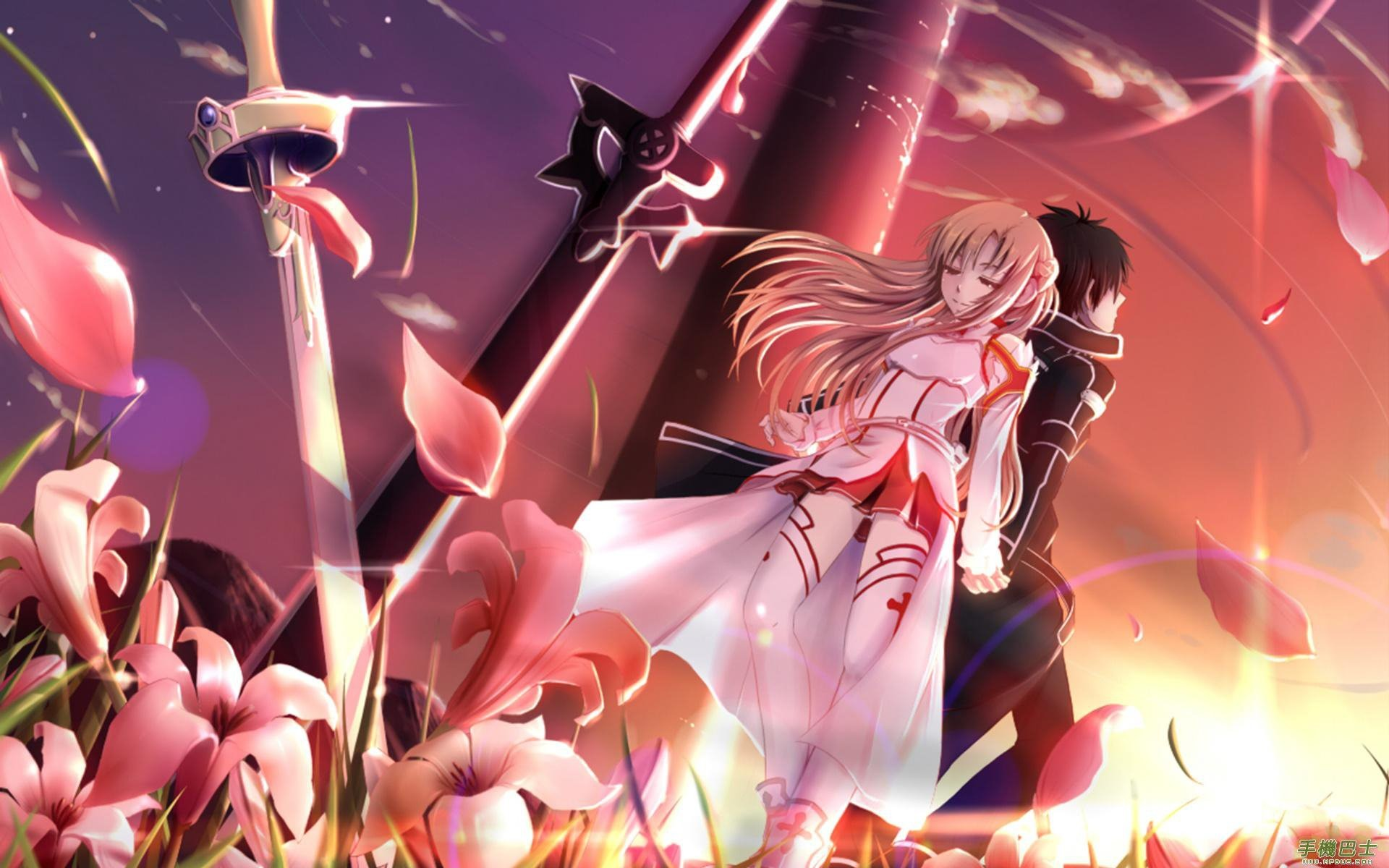 10 Top Kirito And Asuna Wallpaper FULL HD 1080p For PC