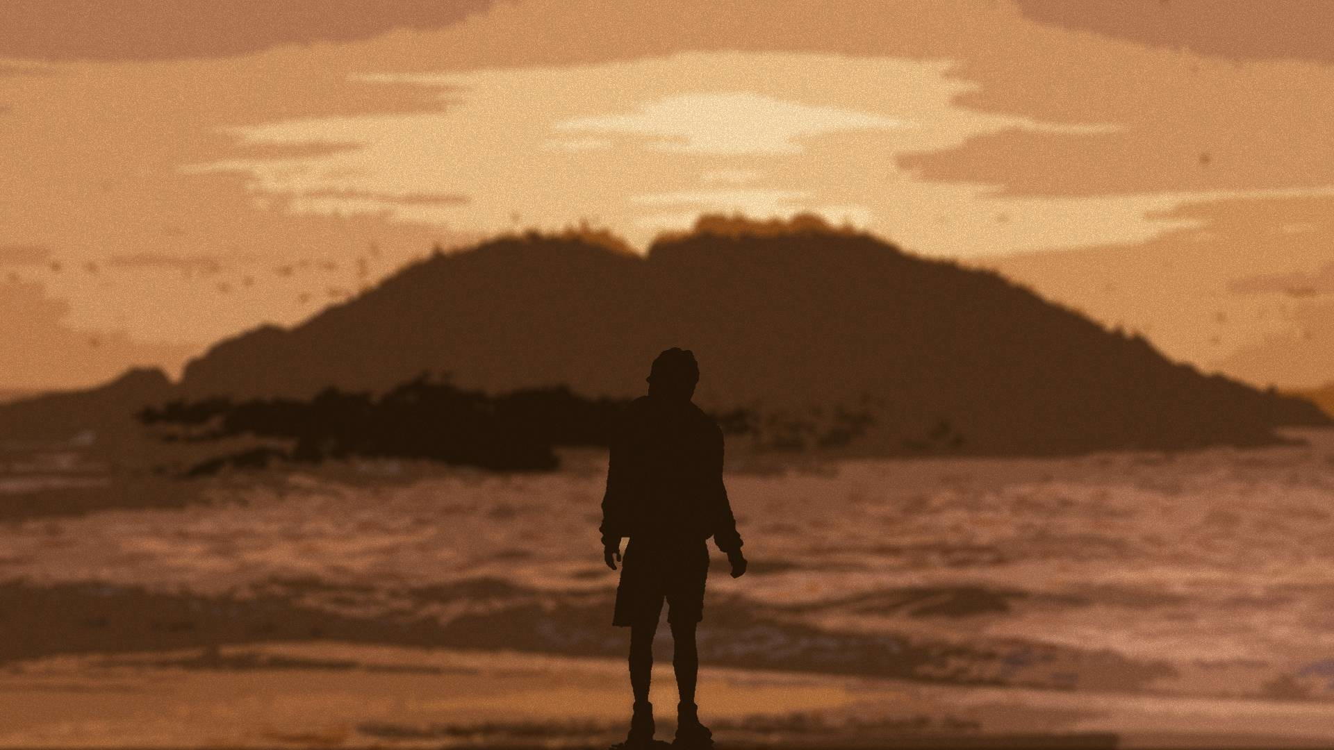 1920x1080 I made this wallpaper after screen-grabbing a shot from the movie Into The  Wild.
