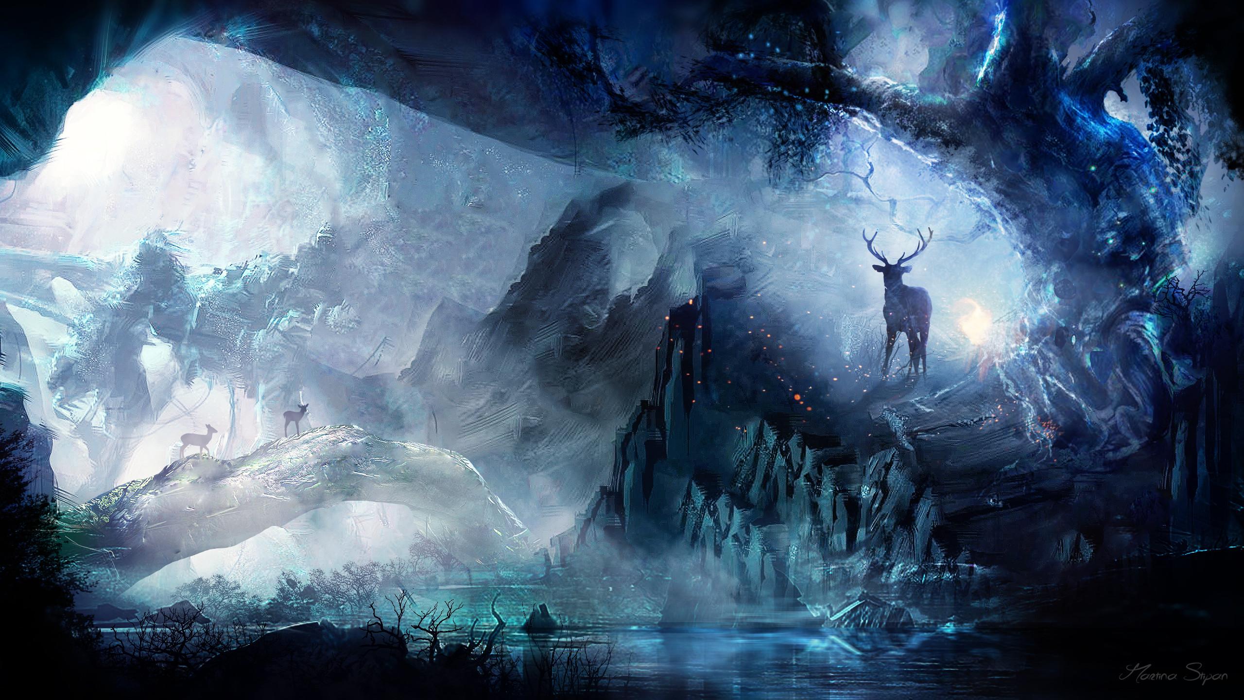 Fantasy forest wallpaper hd 78 images - Fantasy desktop pictures ...
