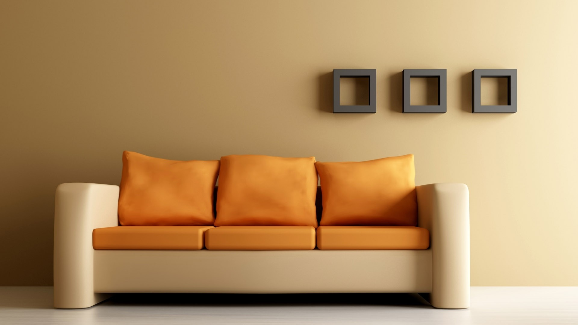 1920x1080 Preview wallpaper sofa, shelves, walls, design