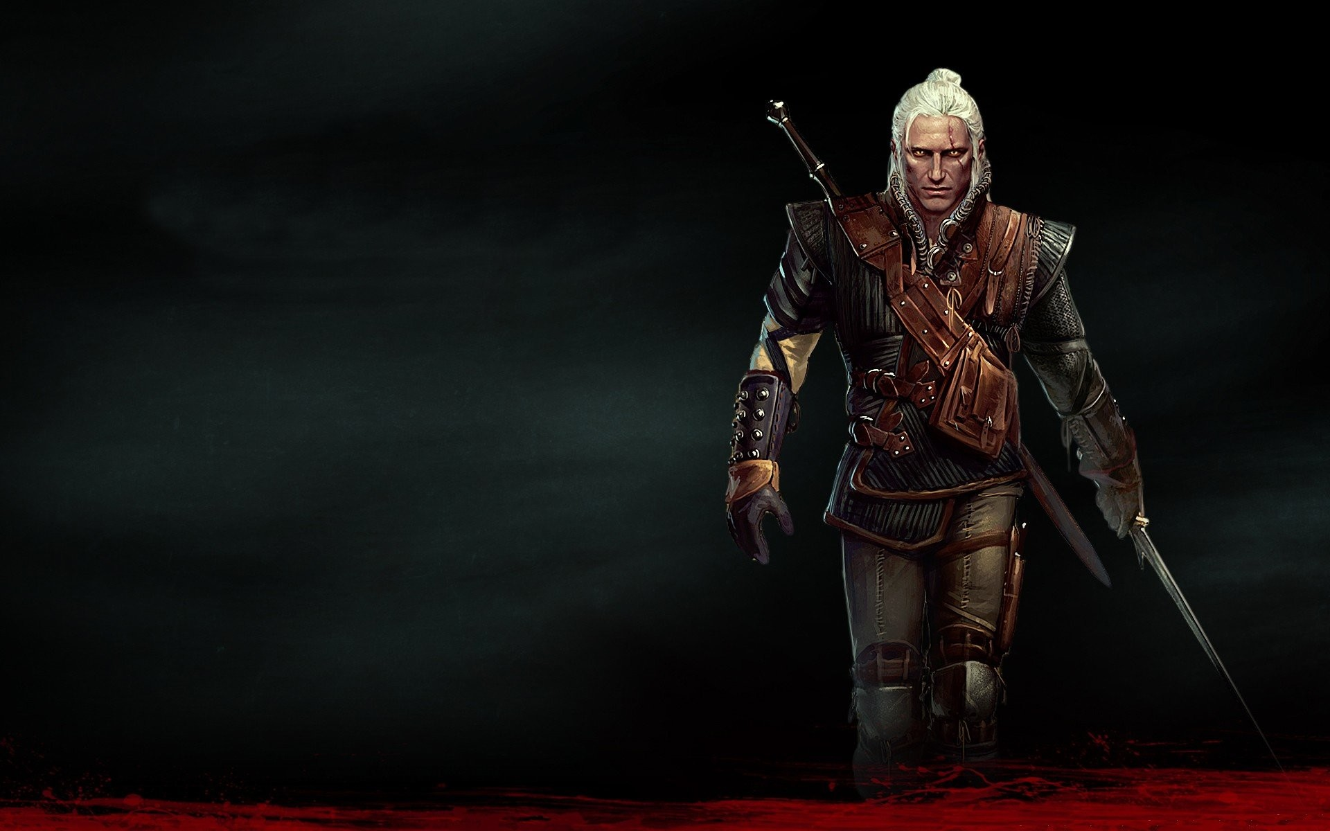 1920x1200 The Witcher Geralt of Rivia The Witcher 2: Assassins of Kings white wolf  school of wolf wallpaper |  | 274973 | WallpaperUP