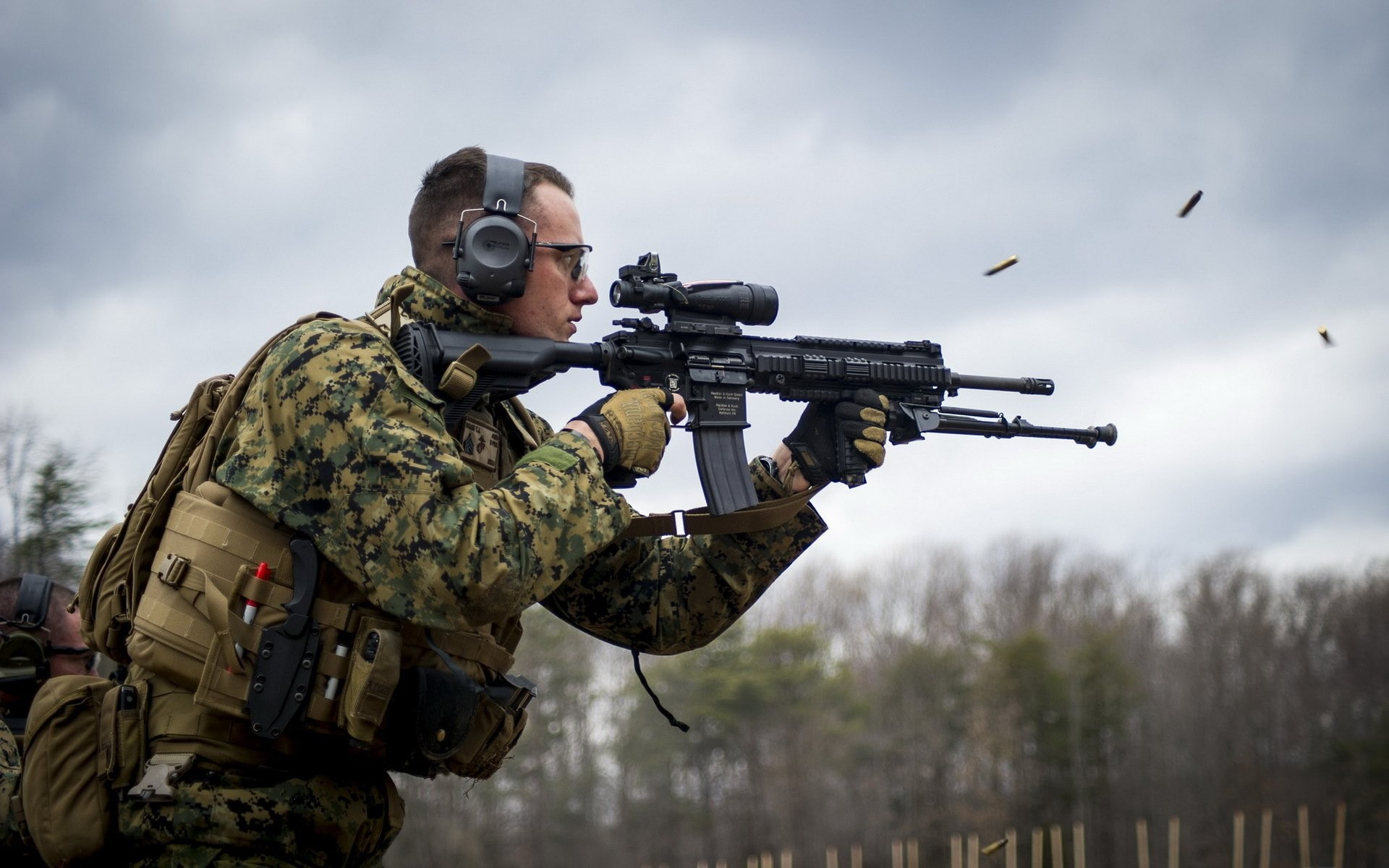 1920x1200 united states marine corps m27 infantry automatic rifle