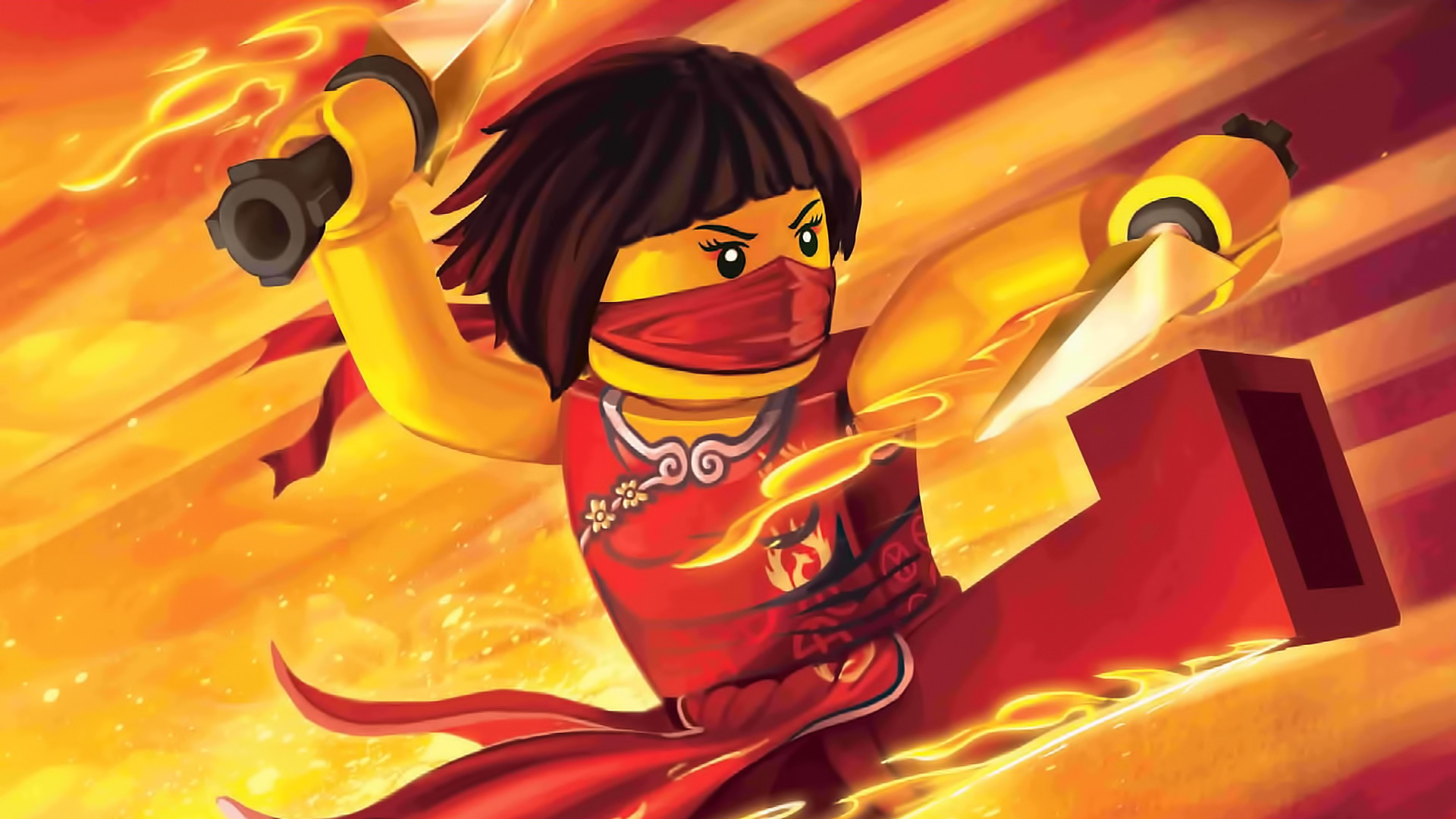 1920x1080 Cartoon - Lego Ninjago: Masters Of Spinjitzu Wallpaper