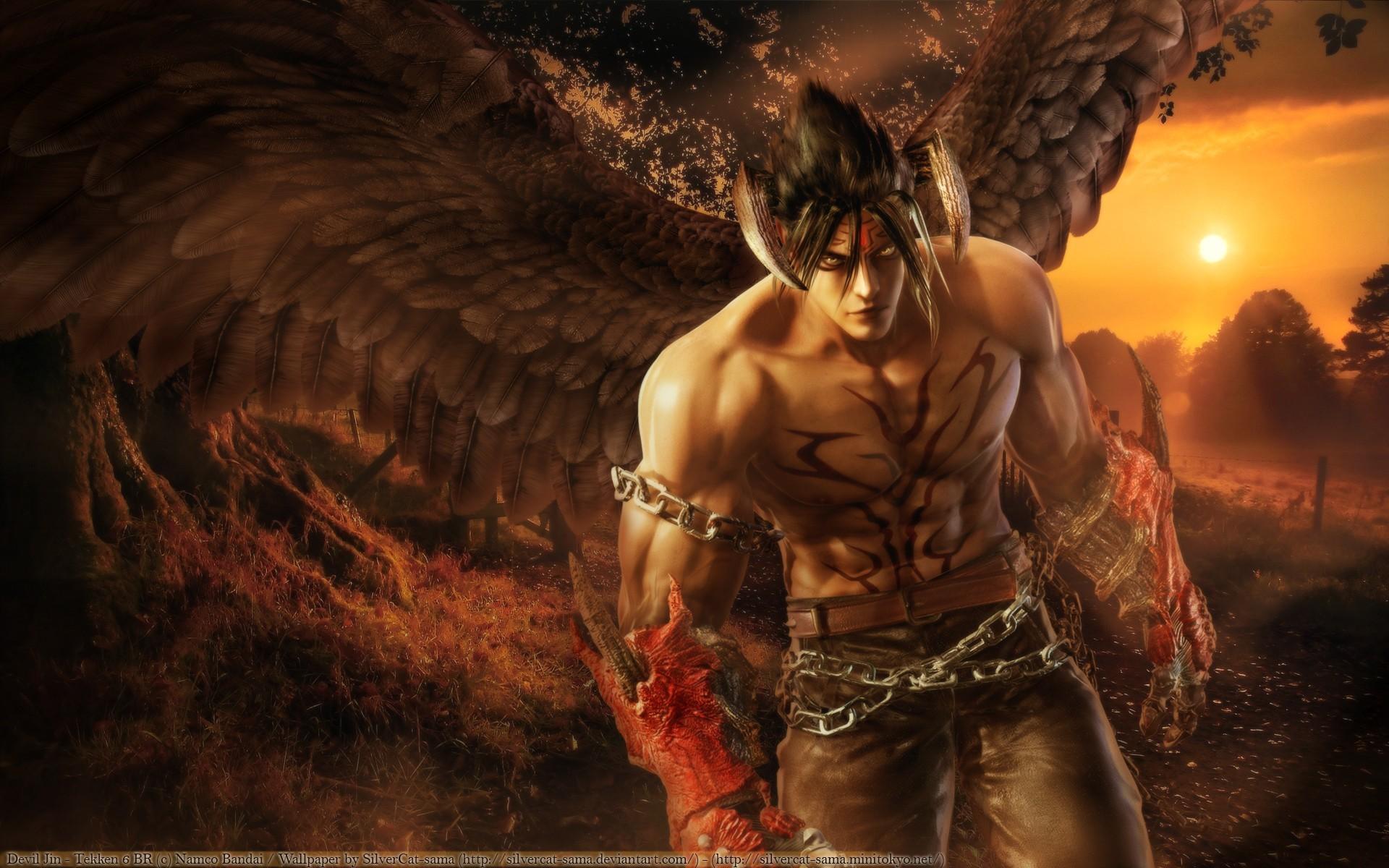 jin kazama devil wallpaper (64+ images)