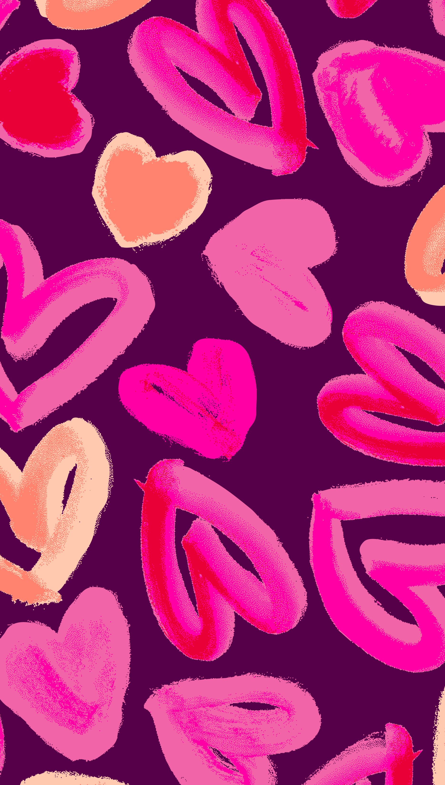 1871x3300 #HUE loves hearts. Print from the FW13 sleepwear collection. #PrintsbyHUE.  Iphone WallpapersCute WallpapersIphone BackgroundsWallpaper ...