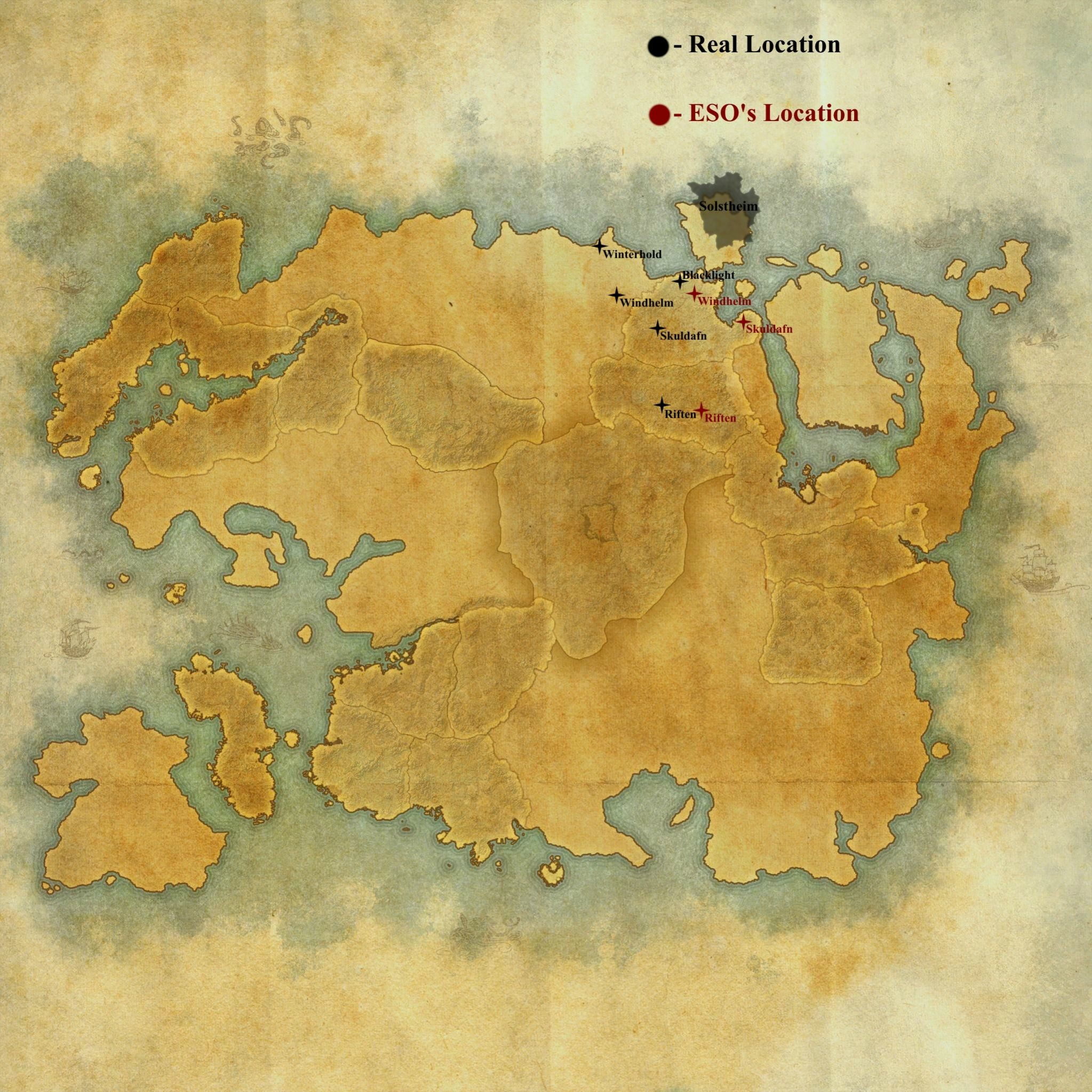 Tamriel Map Wallpaper (55+ images)