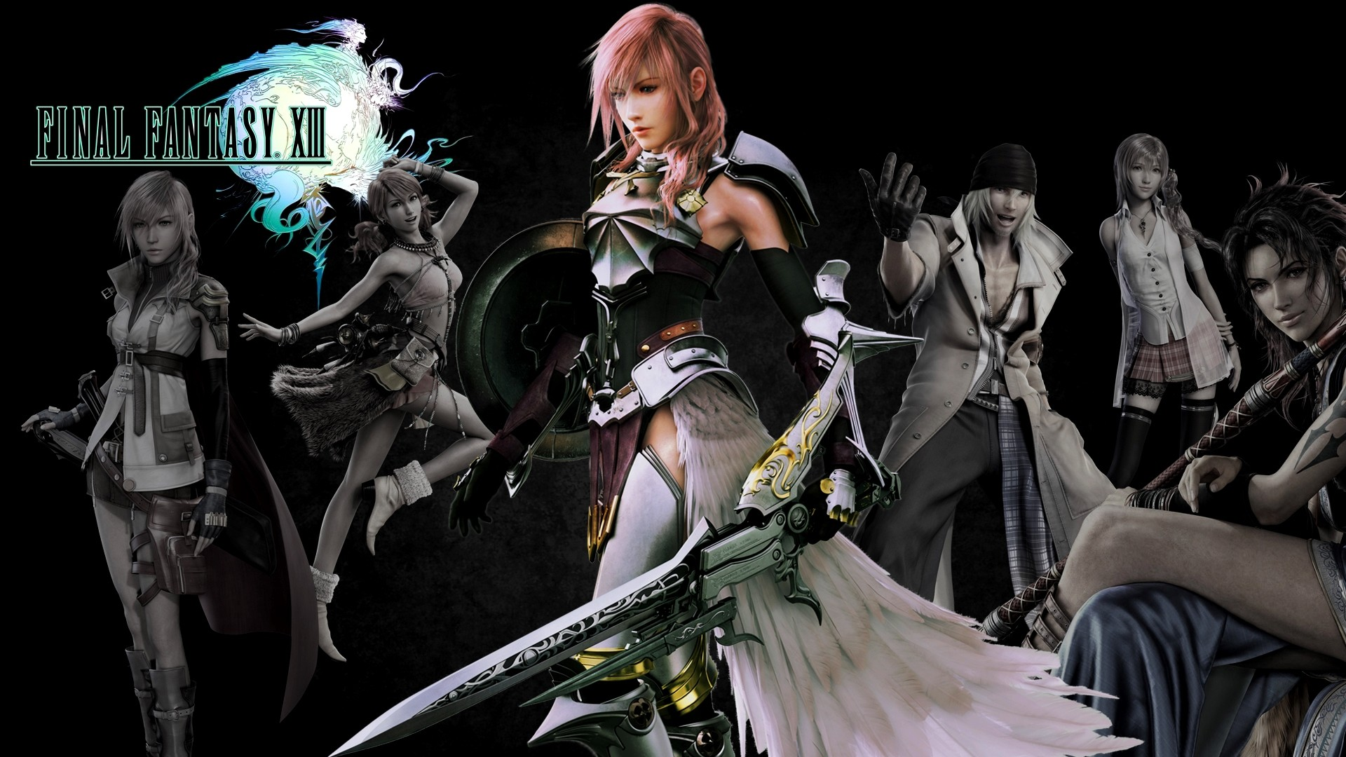 Final Fantasy 13 2 Wallpaper 79 Images
