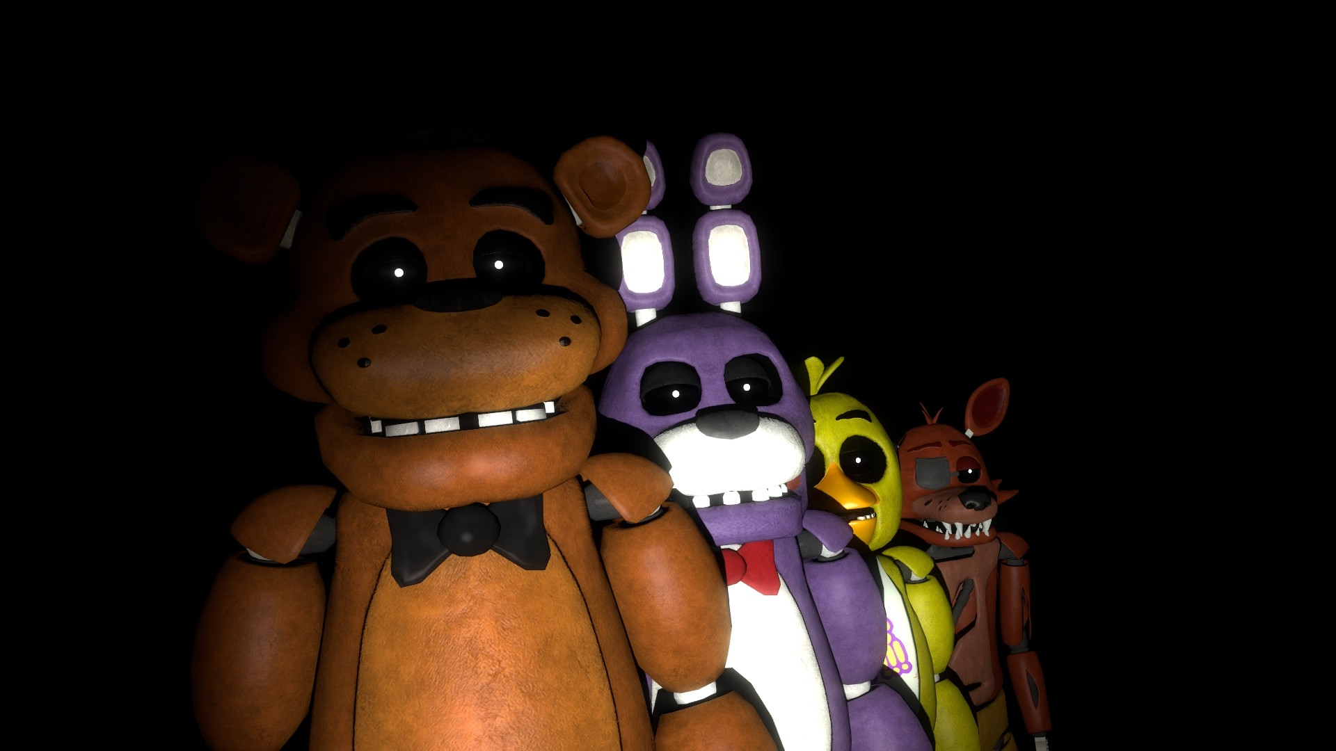 1920x1080 fnaf wallpaper B by datfurryoverthere on DeviantArt