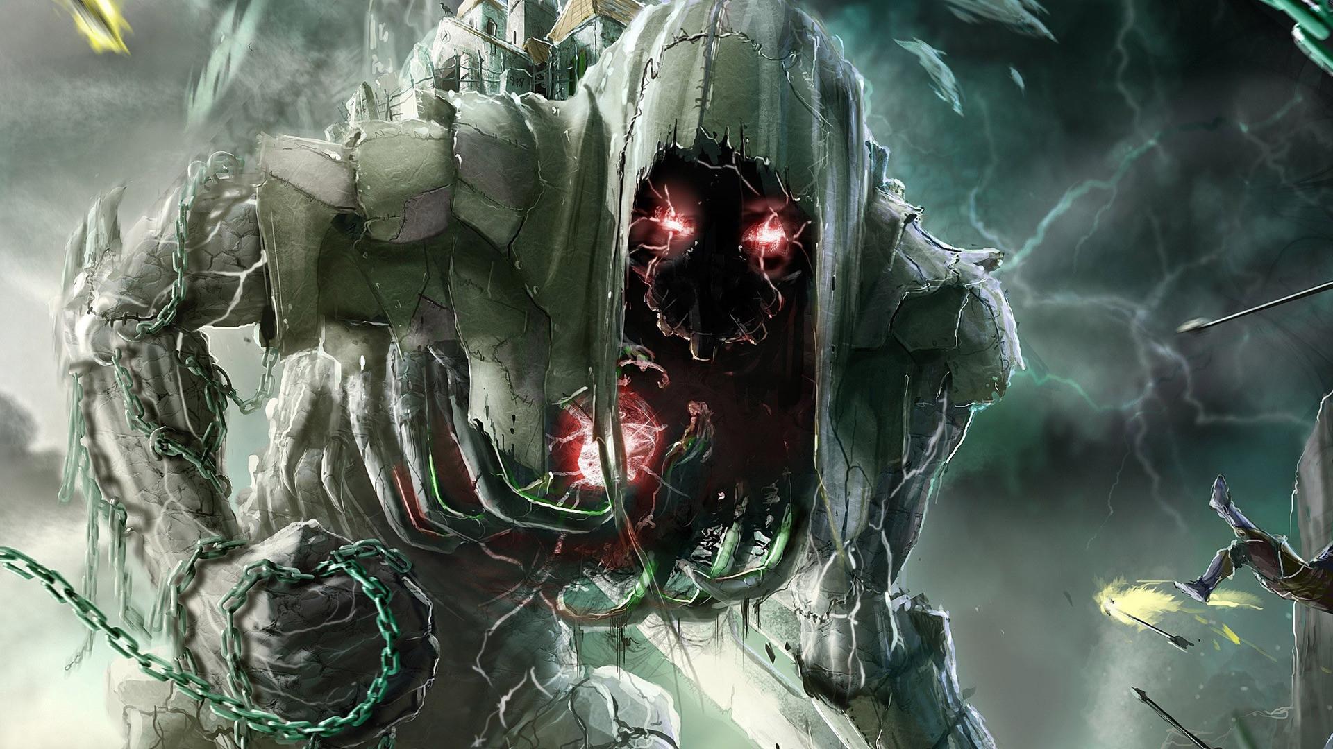 Creepy Hd Wallpaper: Scary Demon Wallpaper (59+ Images