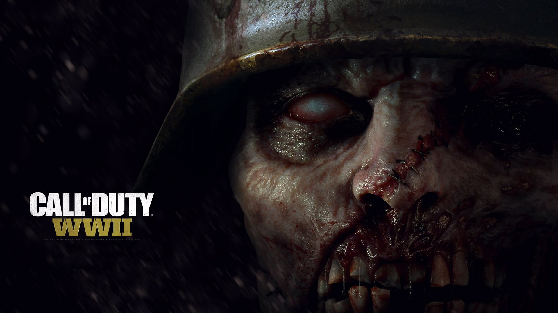 1920x1080 Cool-Call-of-Duty-WWII-Zombie-Soldier-Check-