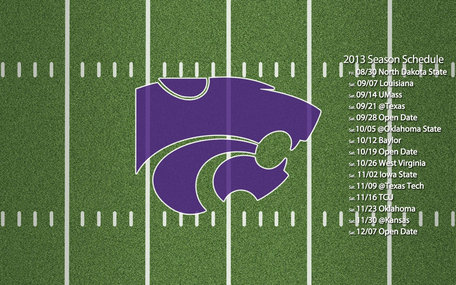 1920x1200 k state football pictures | Kansas State Football Schedule Wallpapers