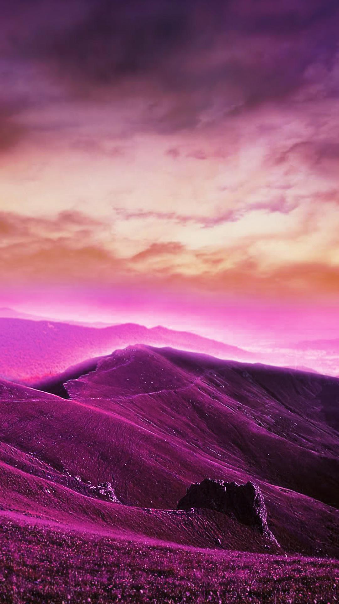 Purple Phone Wallpaper (70+ Images