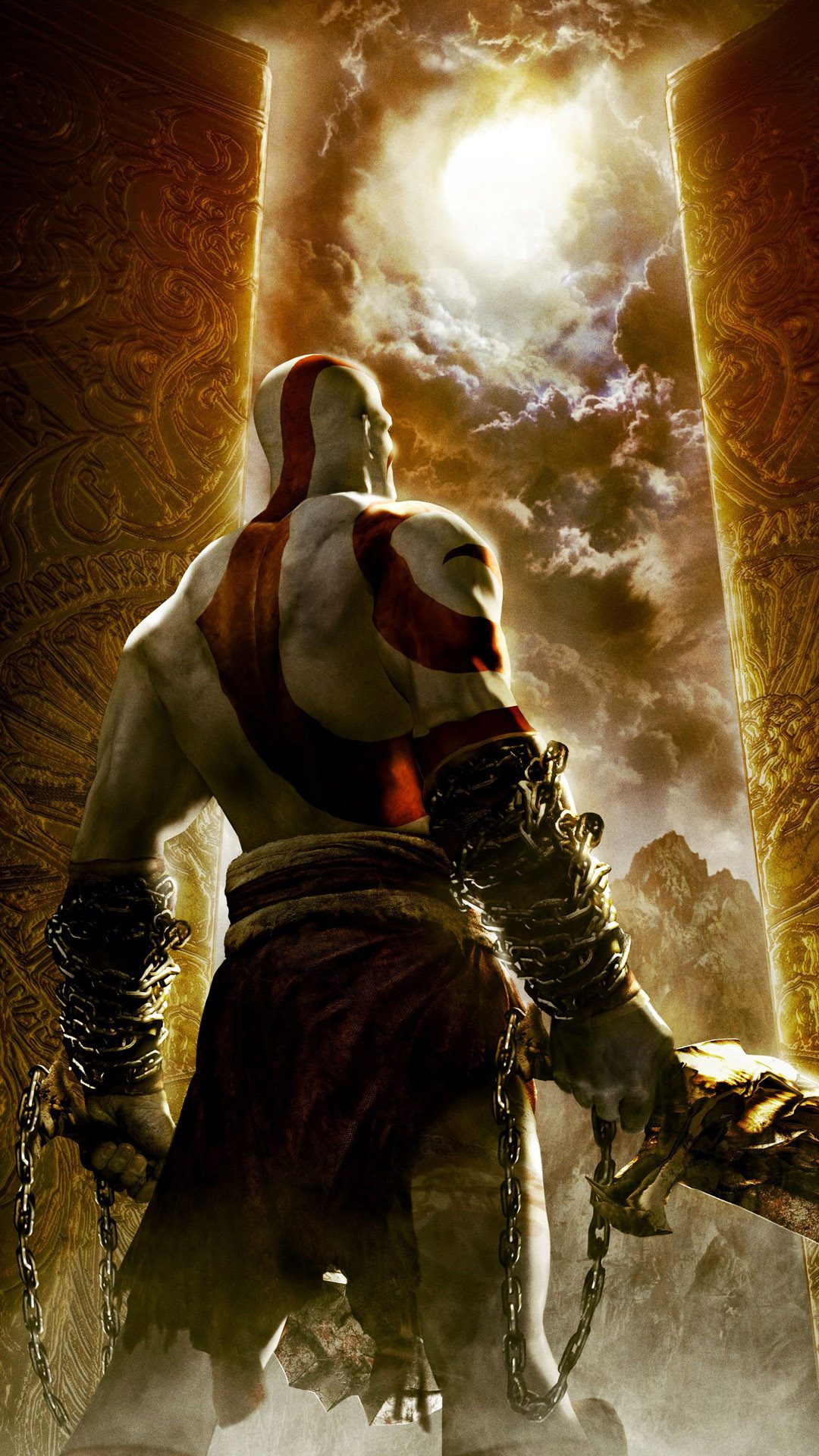 1080x1920 God of War Wallpapers