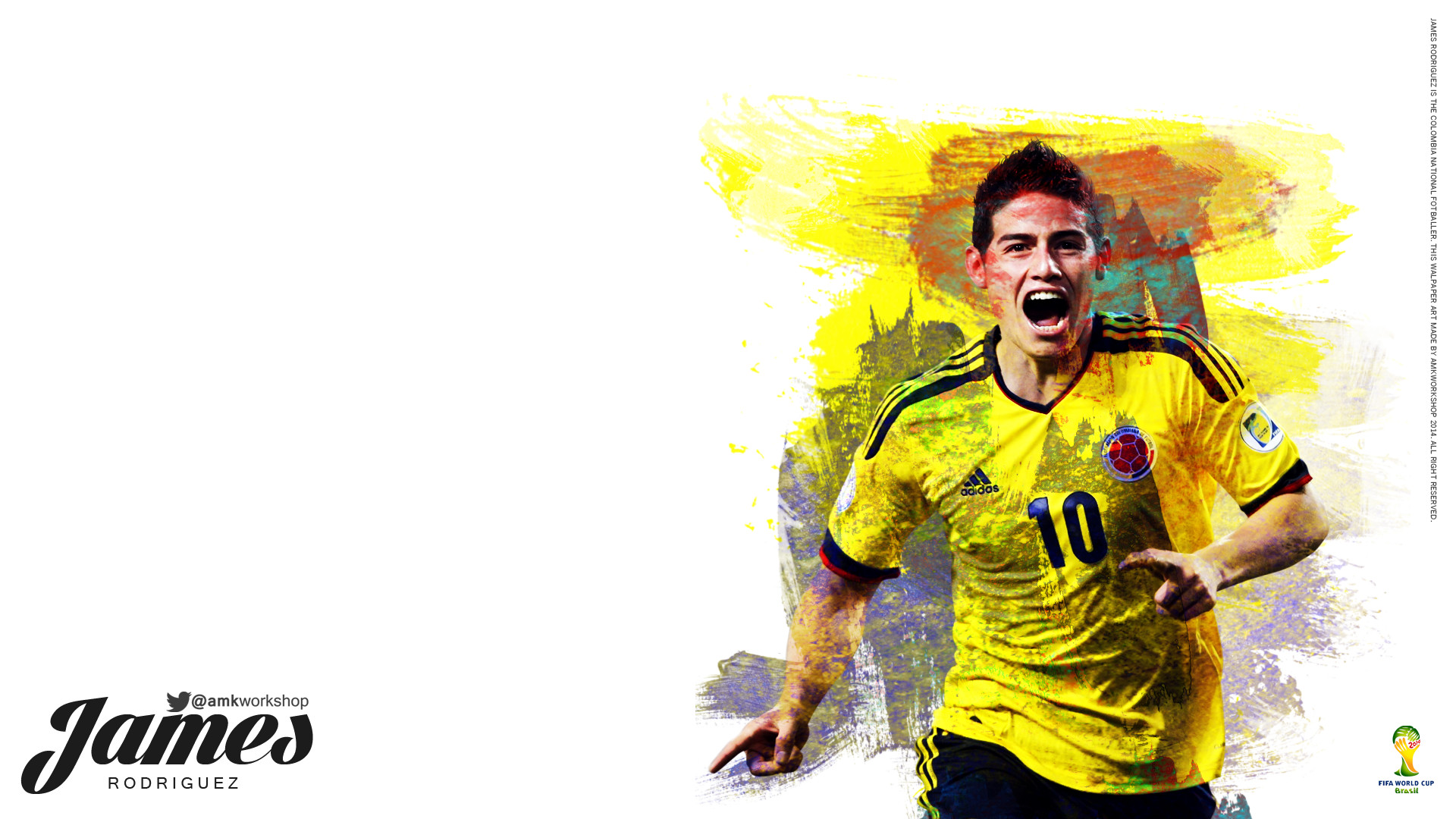 1920x1080 ... James Rodriguez Wallpapers, James Rodriguez Wallpapers by Stanford  Mcqueary, T4.Themes Backgrounds Collection
