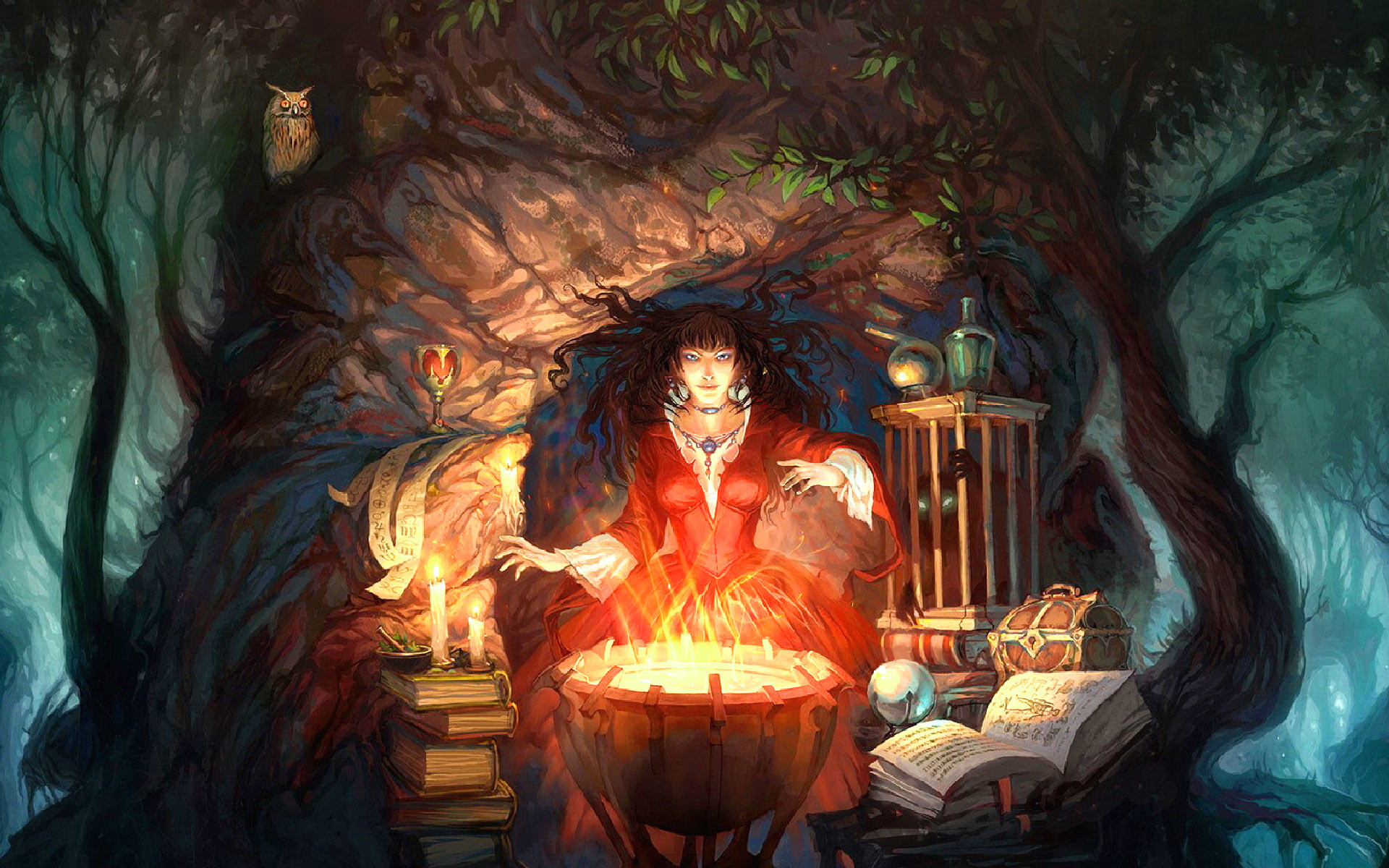 Wiccan Screensavers and Wallpaper (67  images)