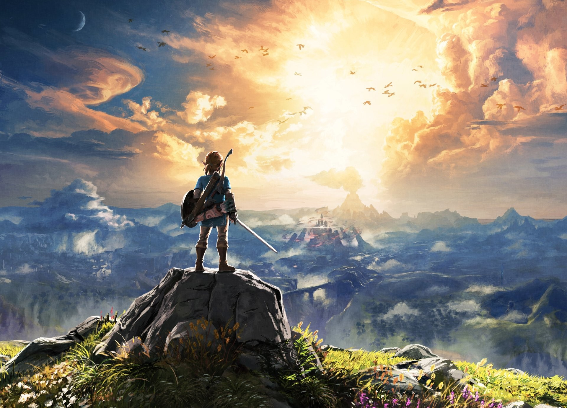 1920x1382 134 The Legend of Zelda: Breath of the Wild HD Wallpapers | Hintergründe -  Wallpaper Abyss