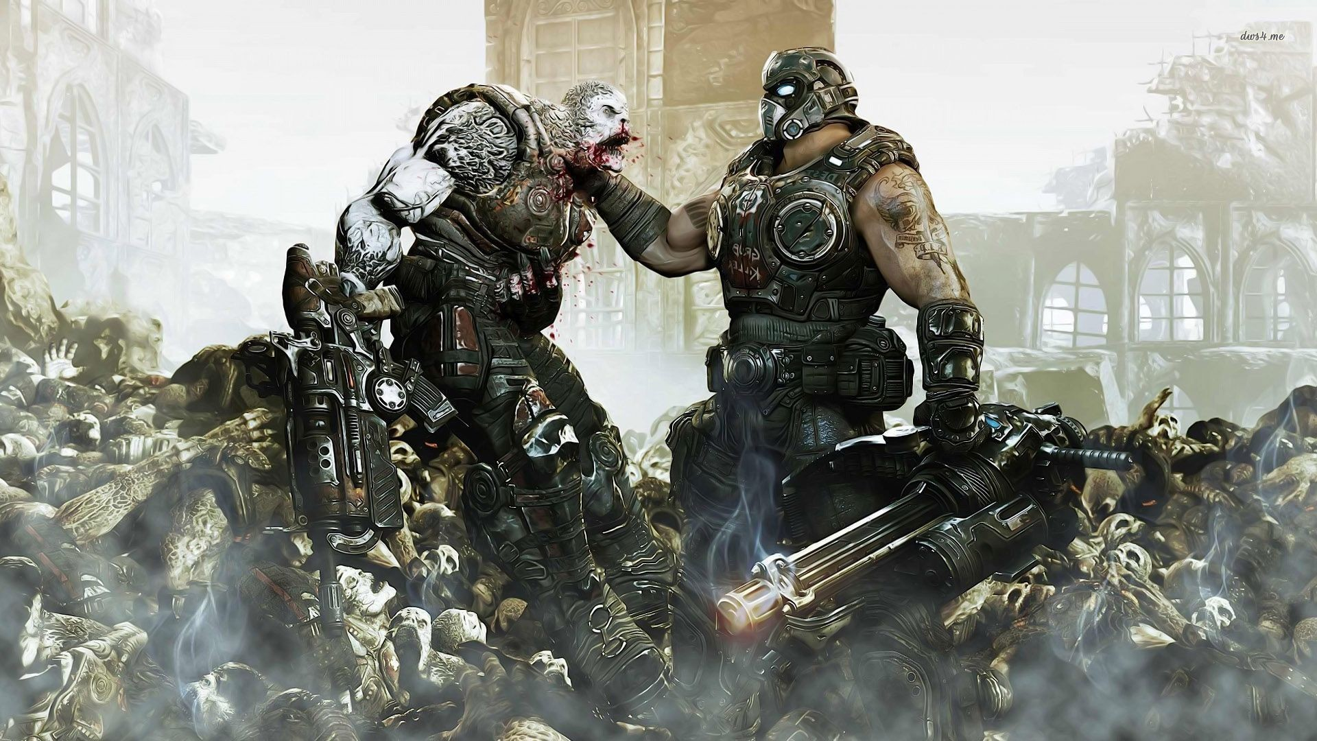 1920x1080 Top Gears Of War HD Wallpapers – Super Backgrounds