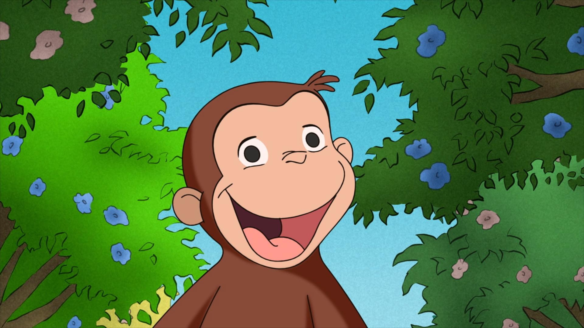 1920x1080 Curious George. . Comic Wallpaper