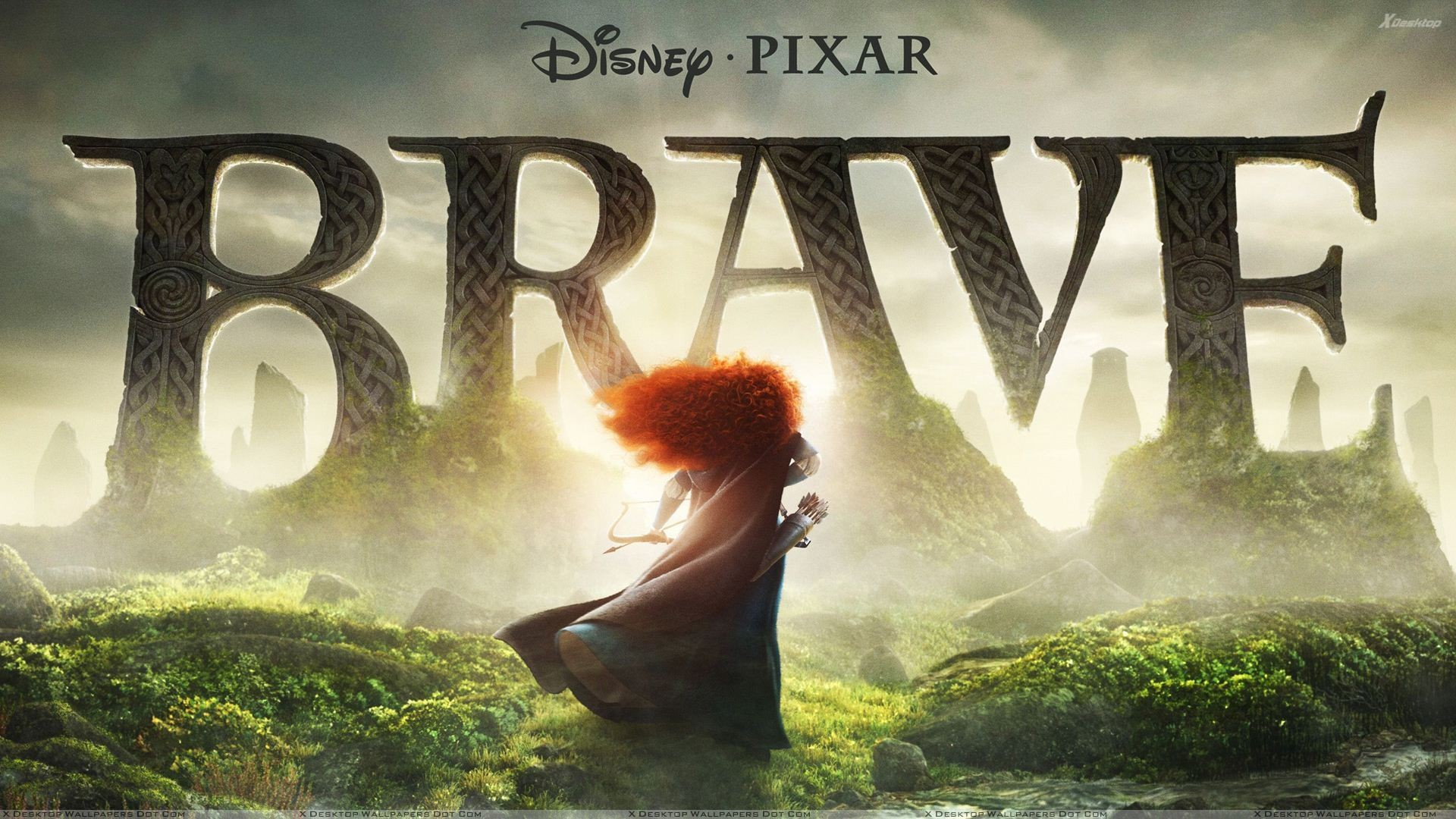 "1920x1080 You are viewing wallpaper titled ""Disney Pixar Brave ..."