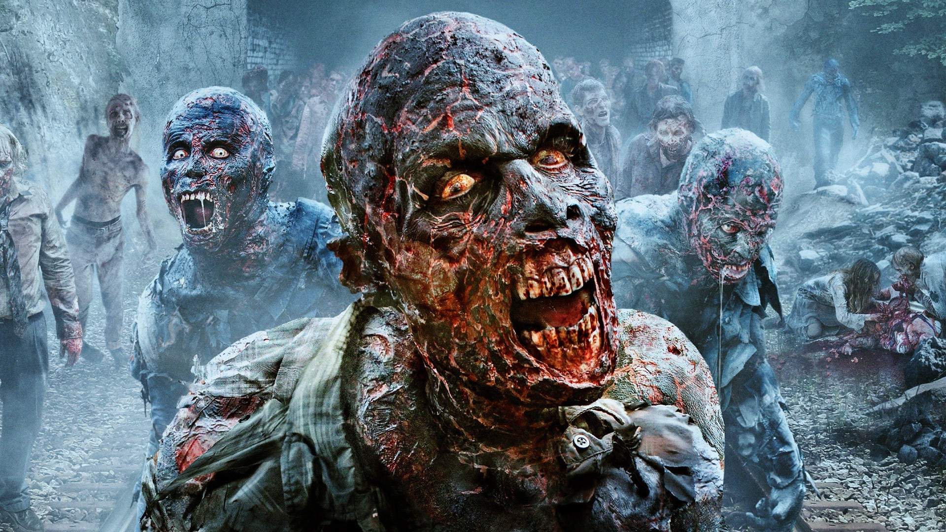scary zombie wallpaper 67 images