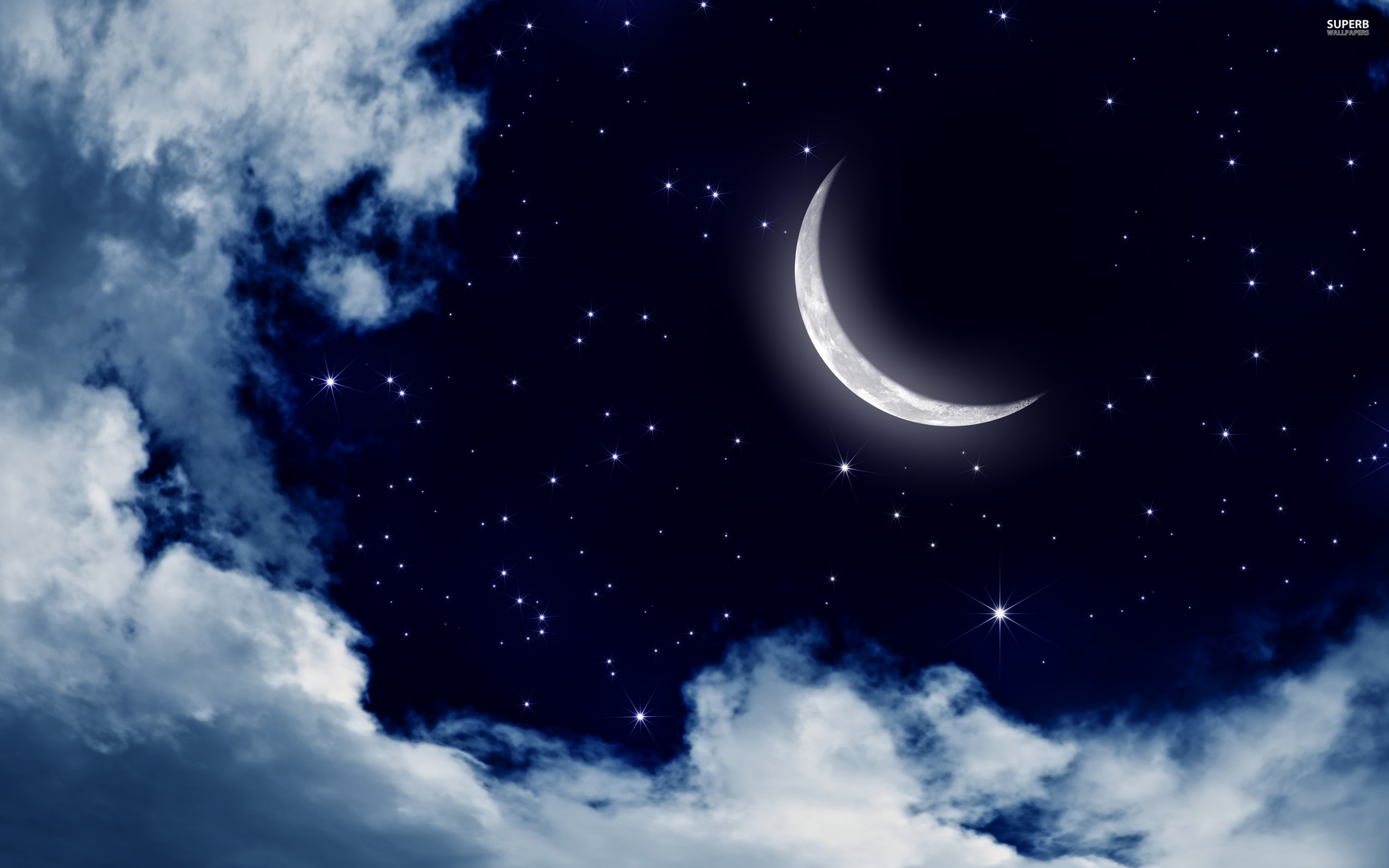 Moon And Stars Background 55 Images
