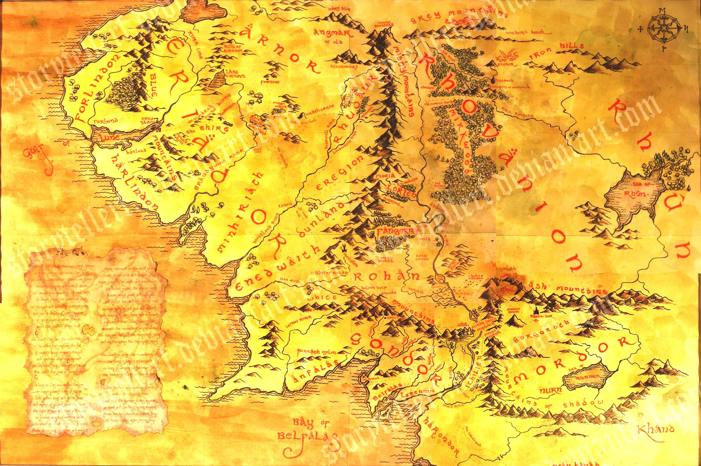 2718x1806 middle earth map desktop wallpaper also full map of middle earth