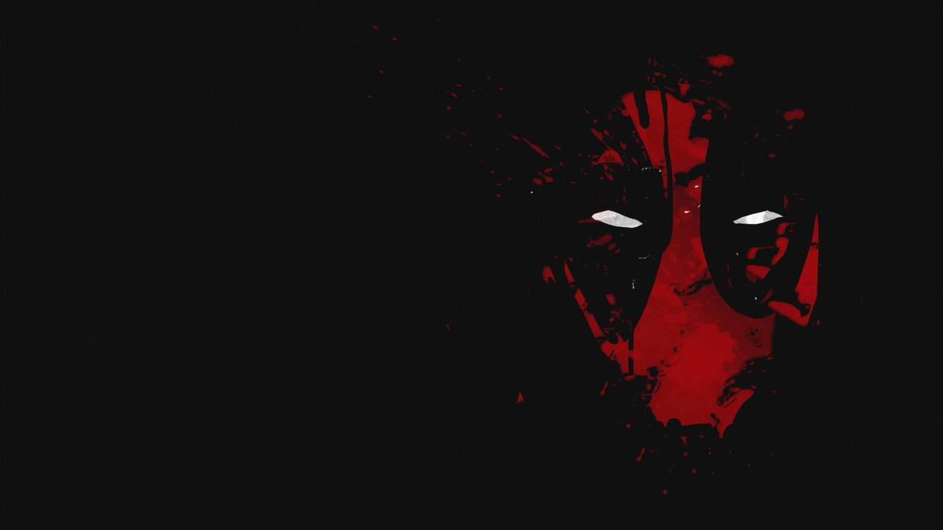 1920x1200 Deadpool Face Wallpaper