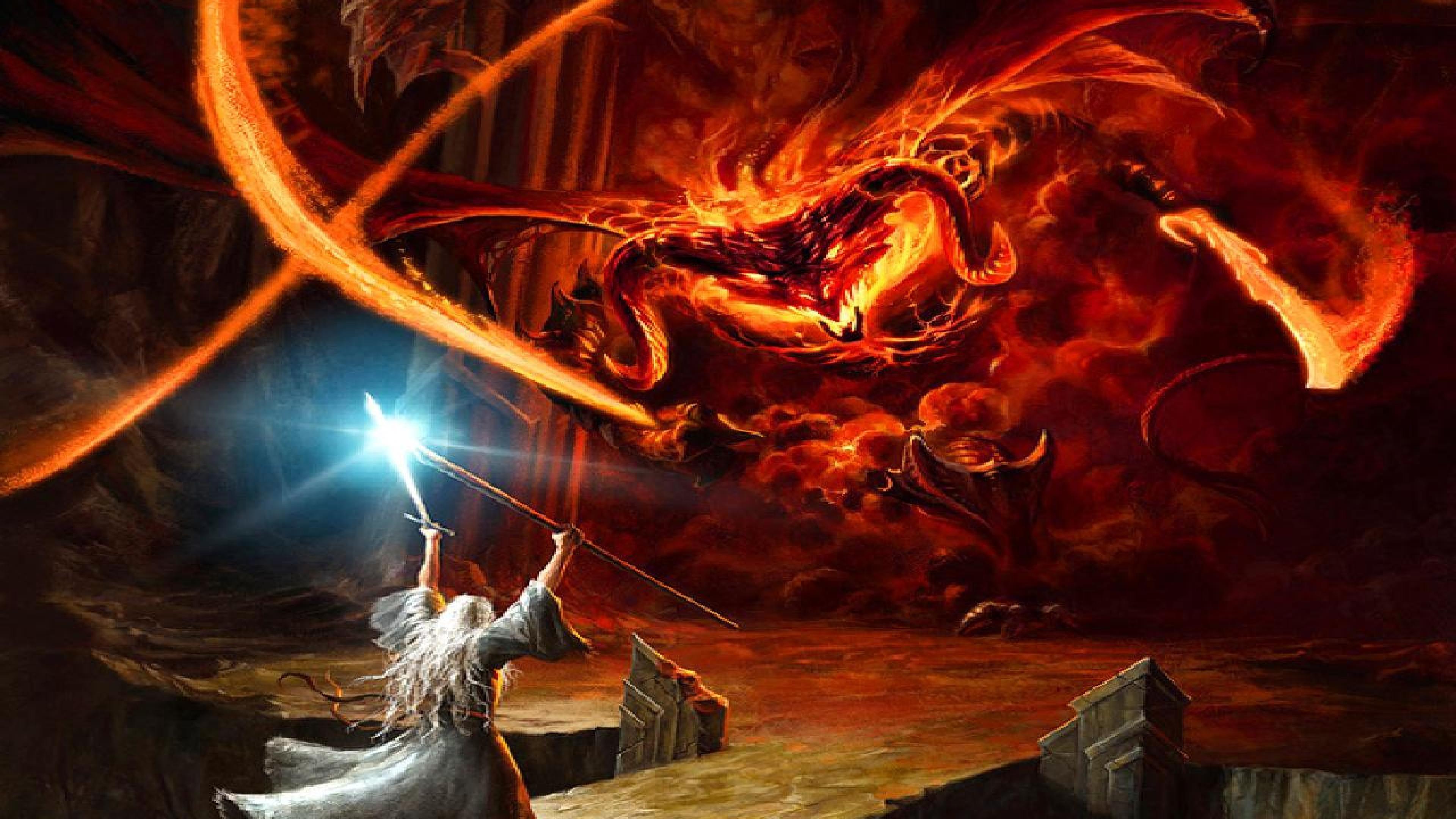 Balrog Gandalf