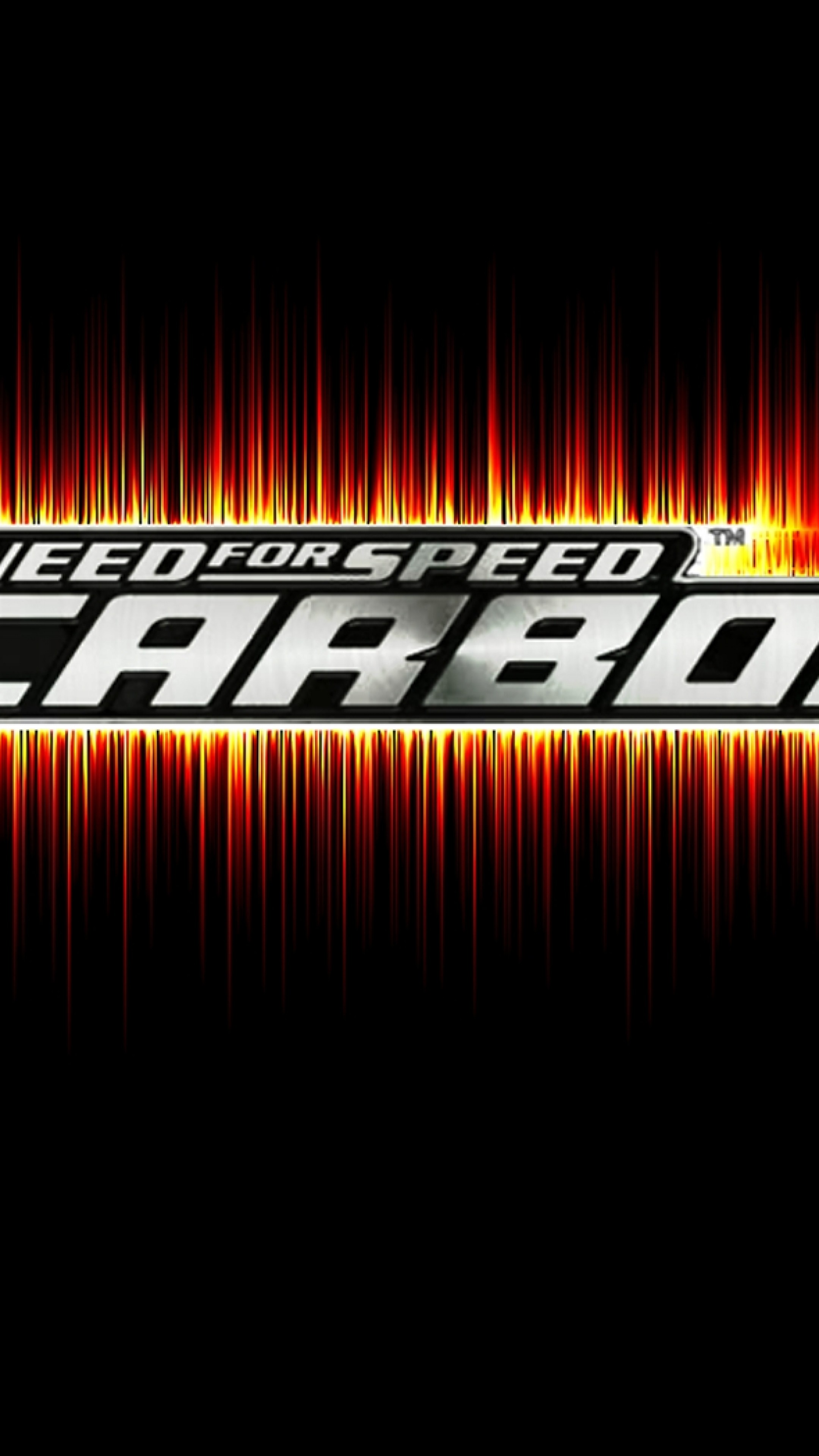 2160x3840  Wallpaper need for speed carbon, graphics, font, game, background