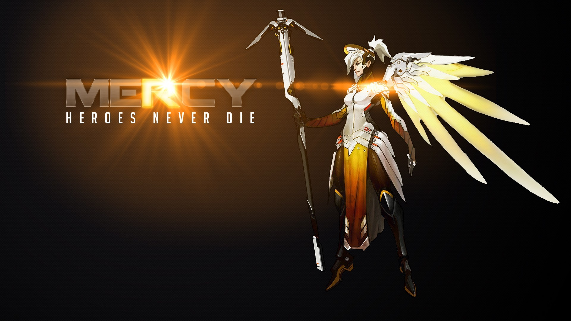 1920x1080 Overwatch, Blizzard Entertainment, Mercy (Overwatch) Wallpapers HD /  Desktop and Mobile Backgrounds