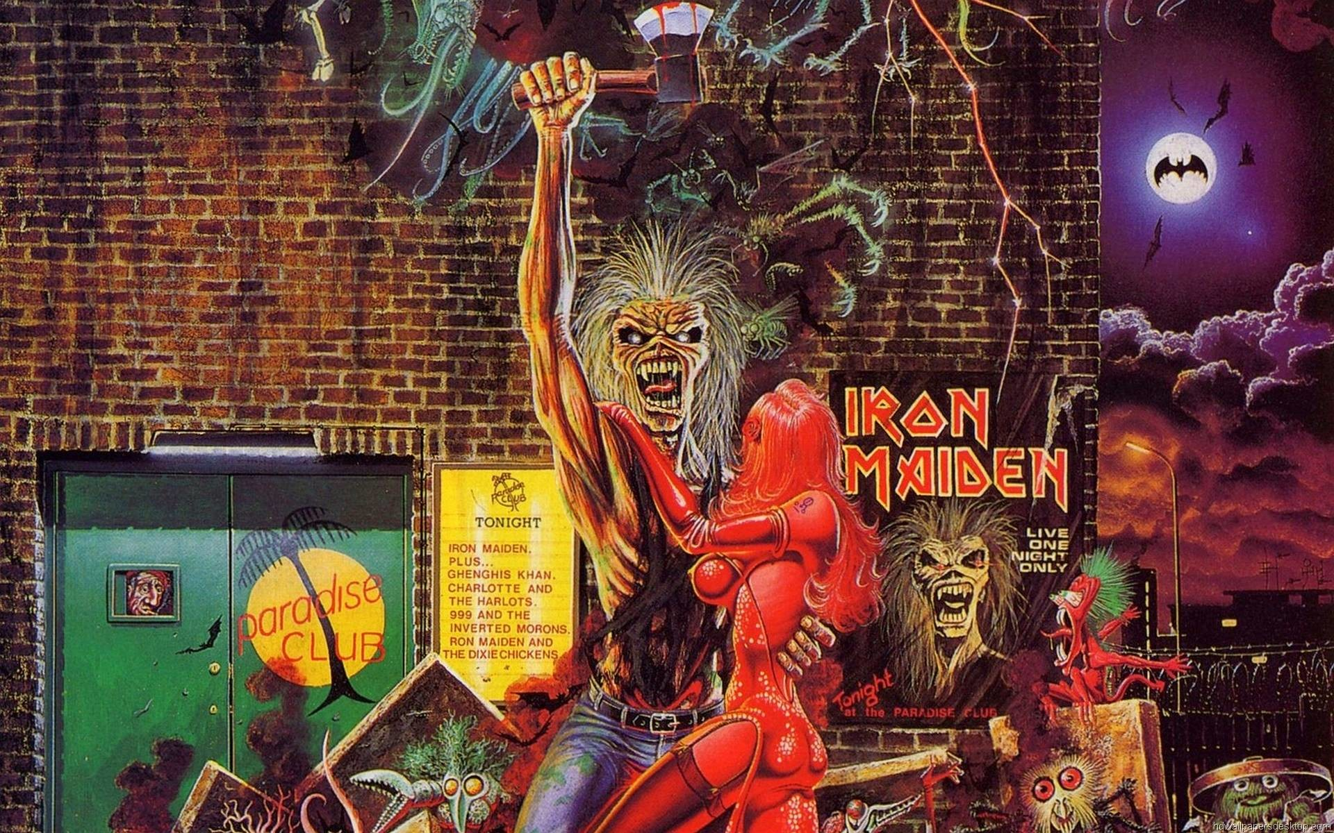 iron maiden wallpaper widescreen (68+ images)