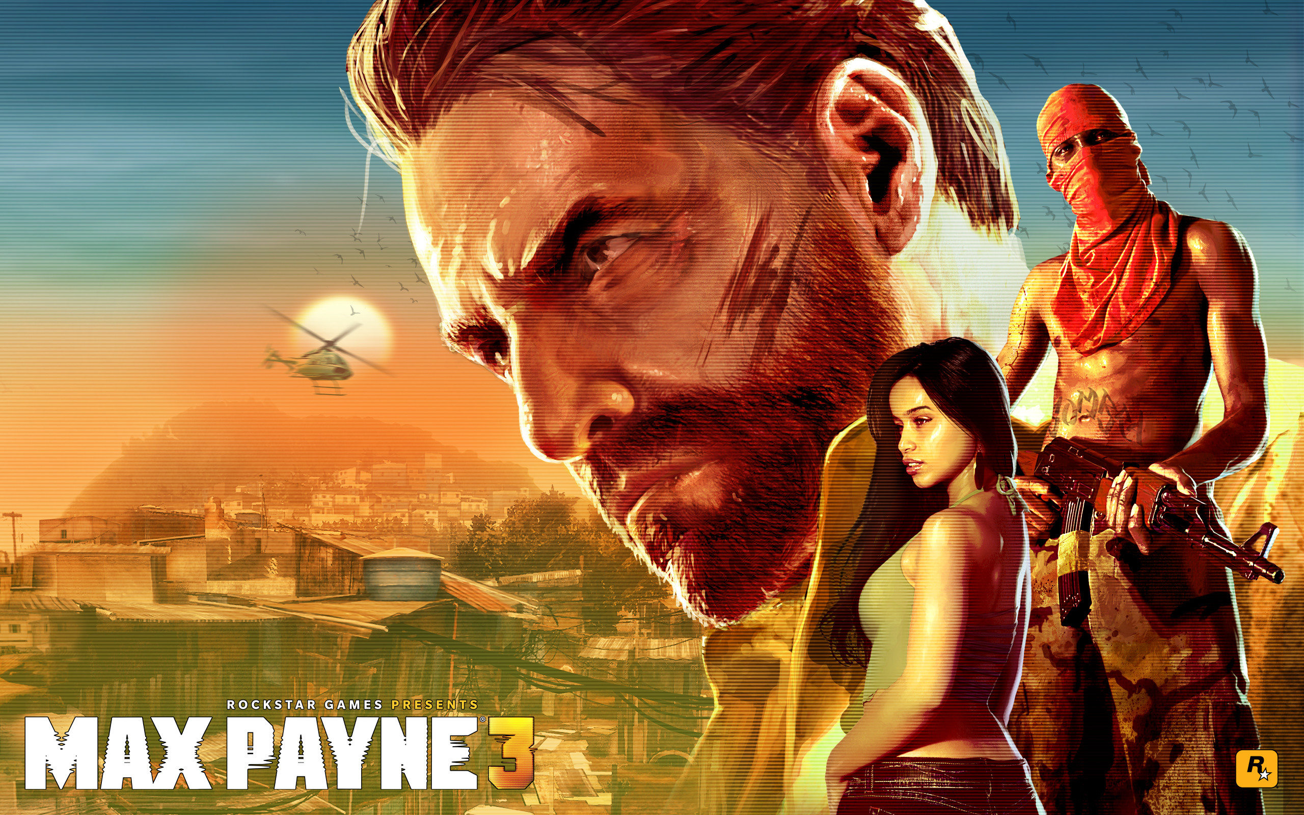 2560x1600 Max Payne 3 Cover
