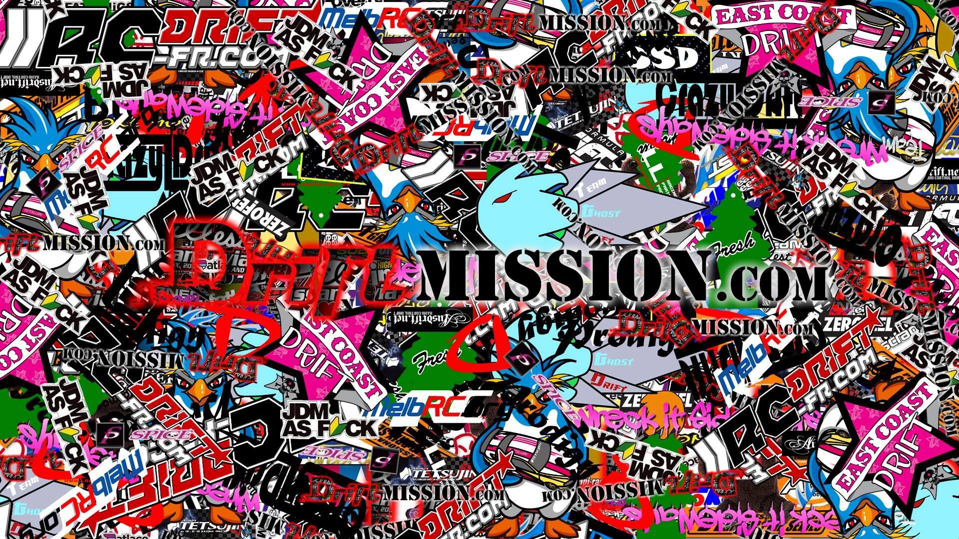 1920x1080 sticker bomb wallpaper hd