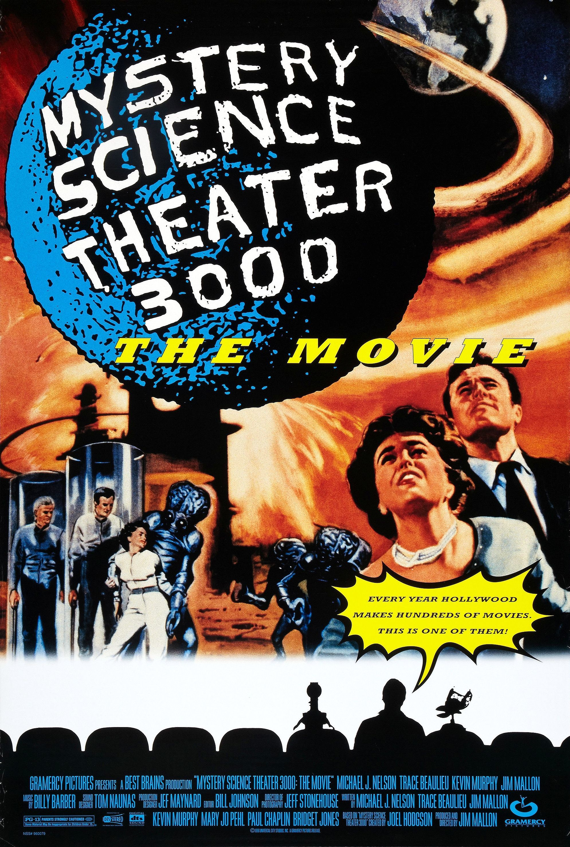 1989x2953 Mystery Science Theater 3000: The Movie (1996, USA)