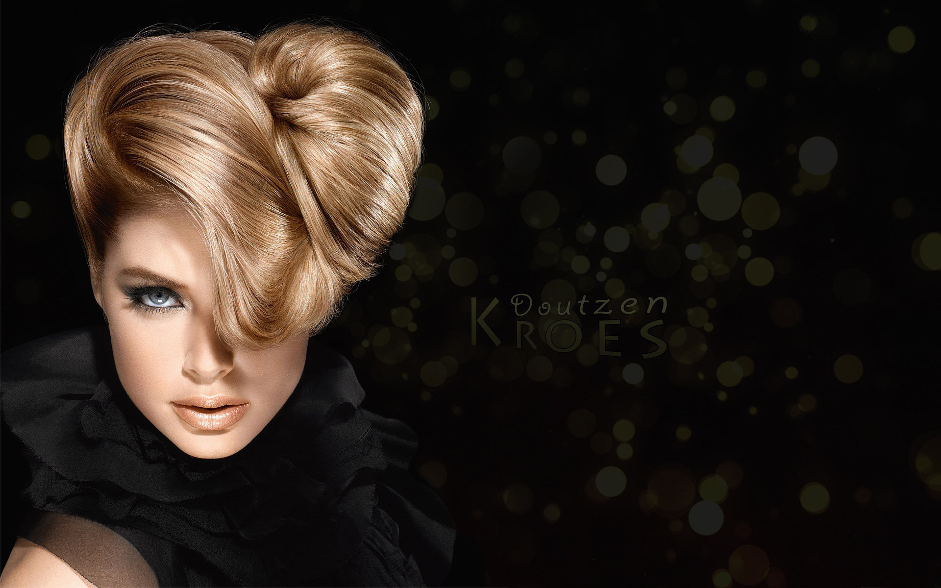 1920x1200 ... doutzen kroes short hair stylist ...